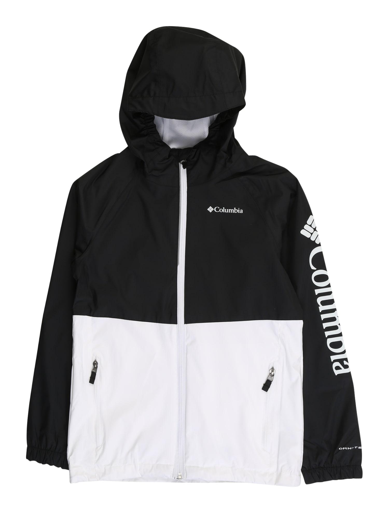 COLUMBIA Laisvalaikio striukė 'Dalby Springs™' balta / juoda