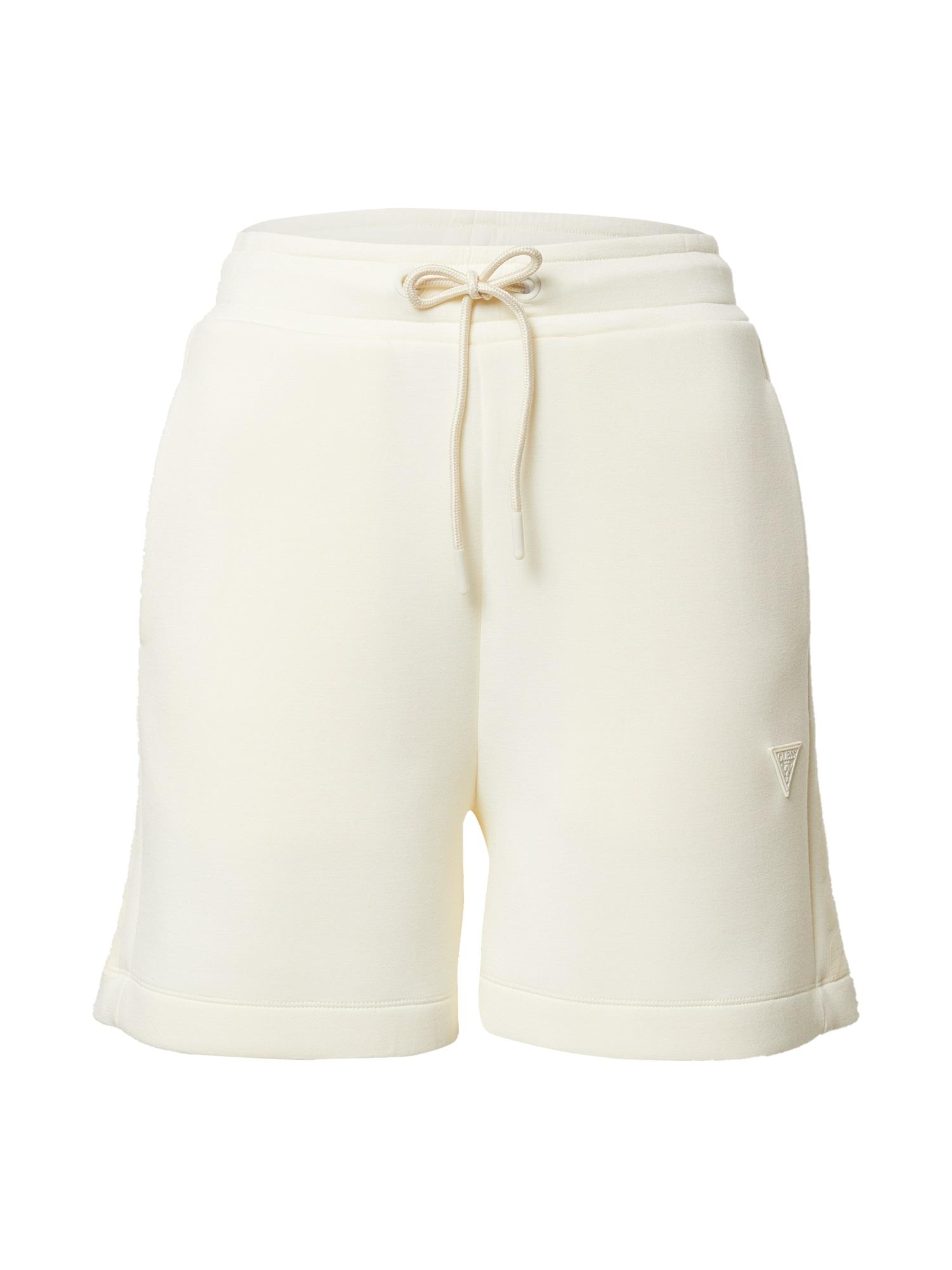 GUESS Kelnės balta