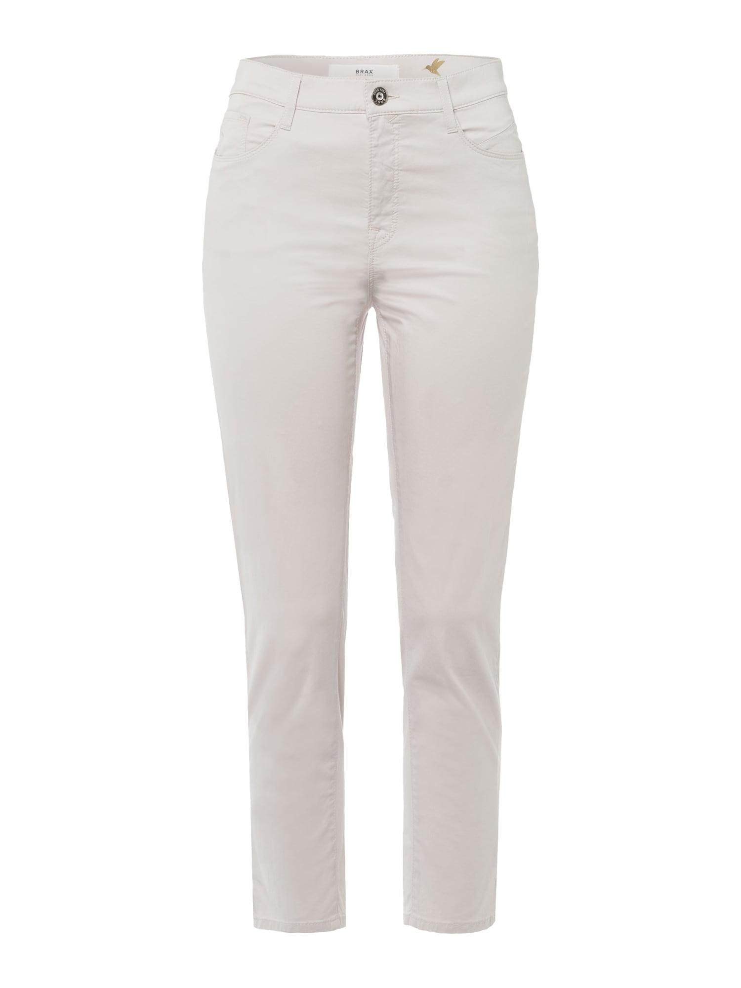 BRAX Kelnės 'MARY' vilnos balta