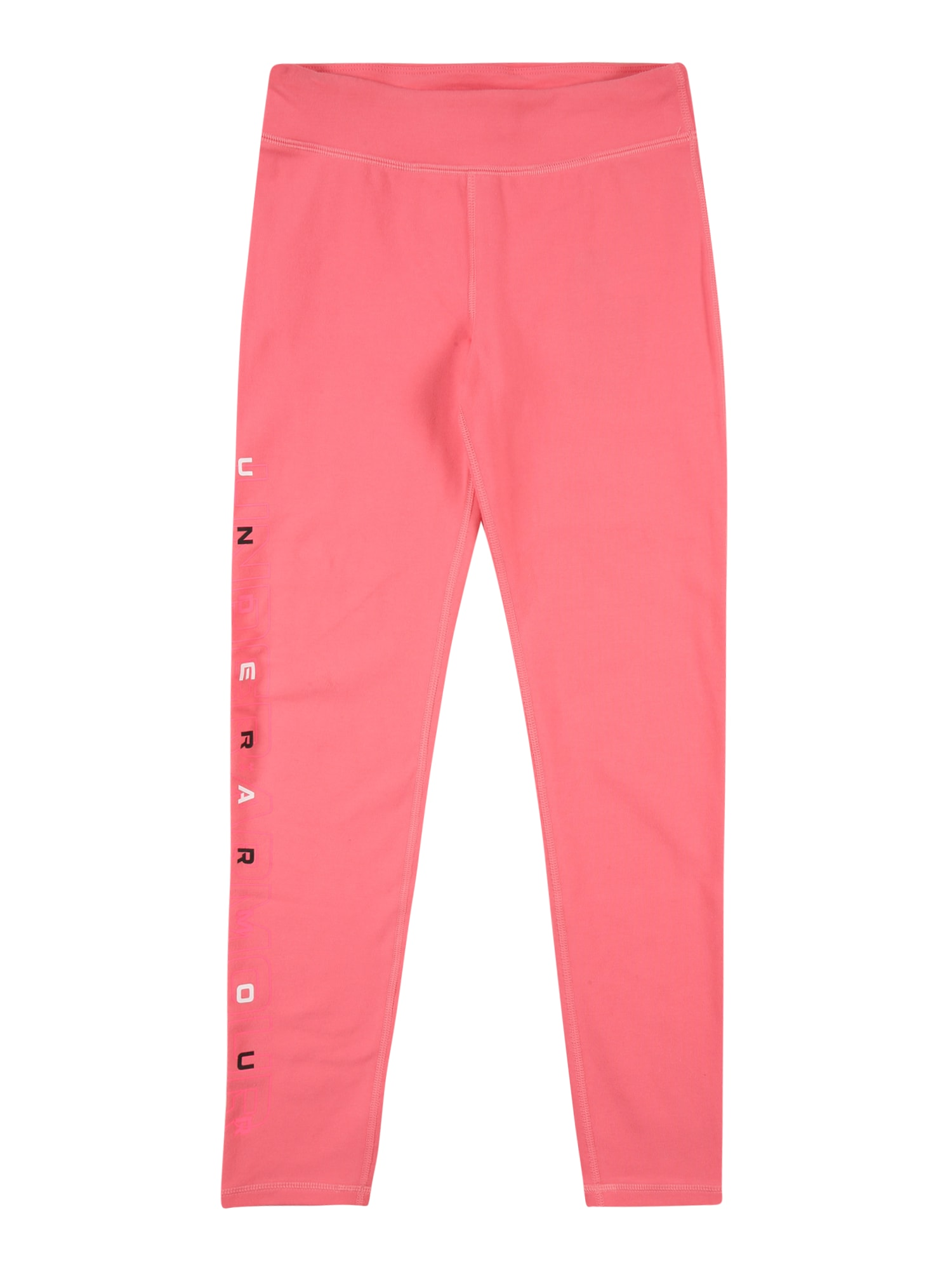 UNDER ARMOUR Sportinės kelnės šviesiai rožinė / balta / juoda