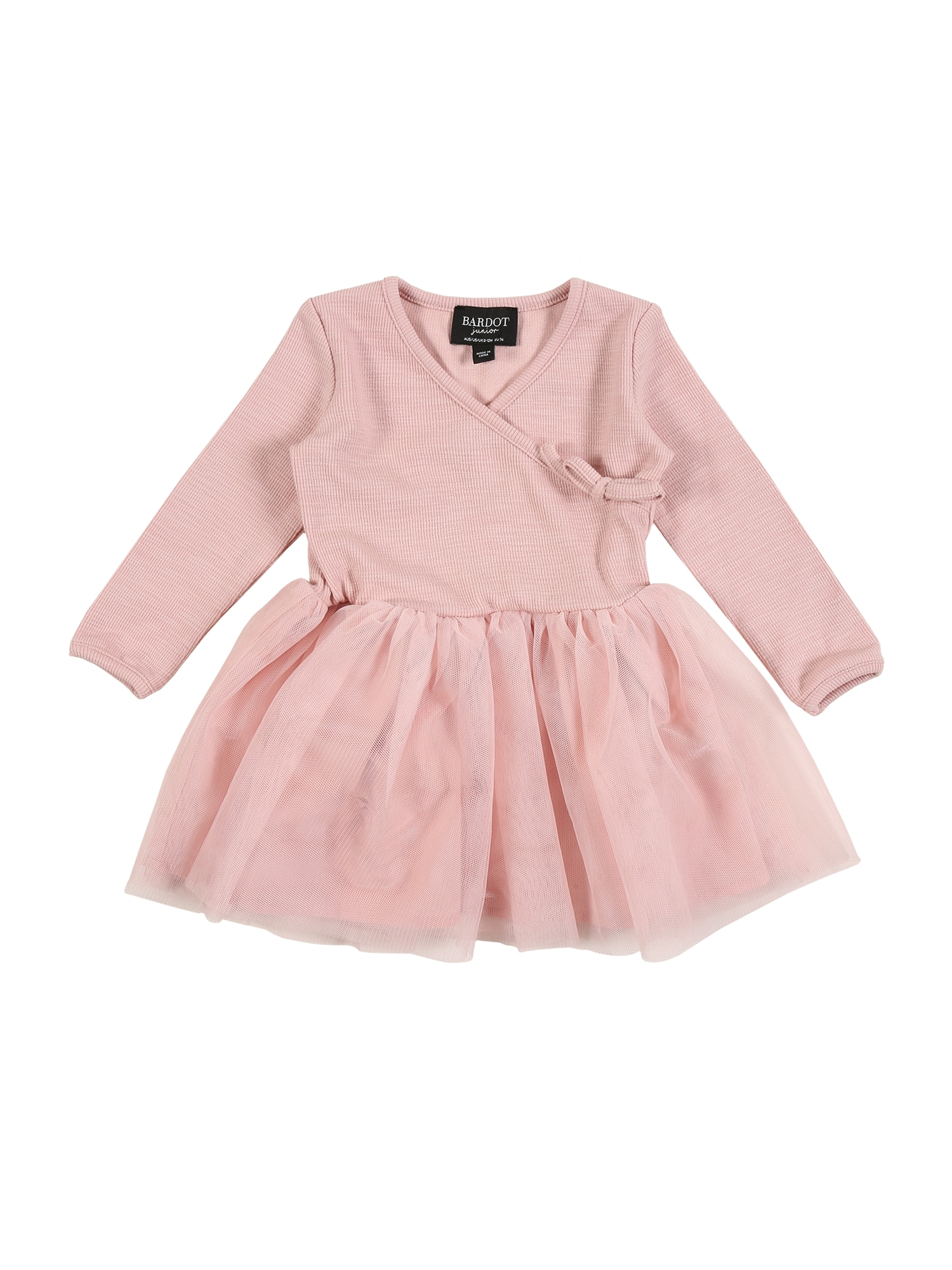 Bardot Junior Suknelė ryškiai rožinė spalva