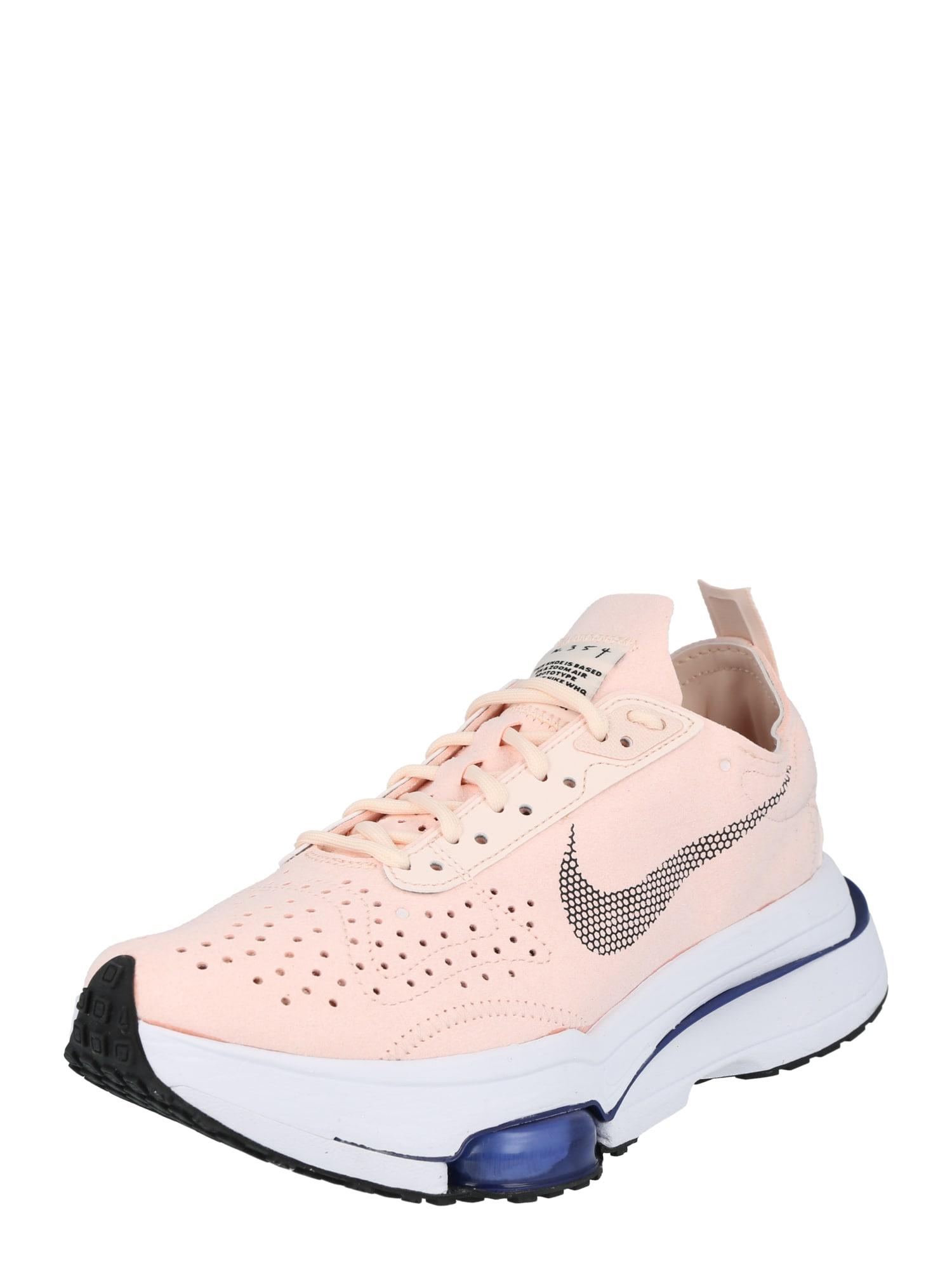 Nike Sportswear Sportbačiai be auliuko juoda / persikų spalva