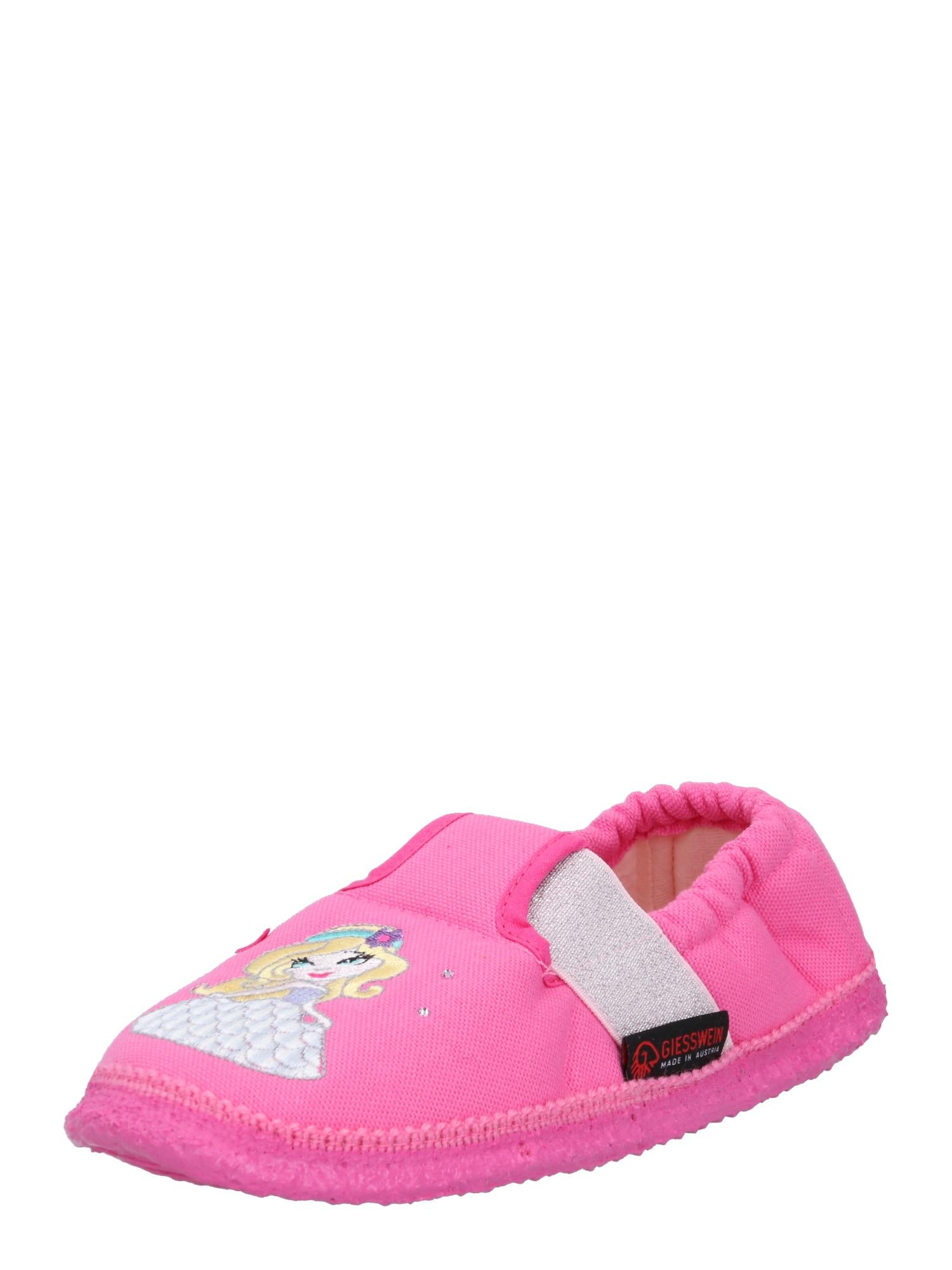 GIESSWEIN Pantofle 'Arnbruck'  pink / mix barev