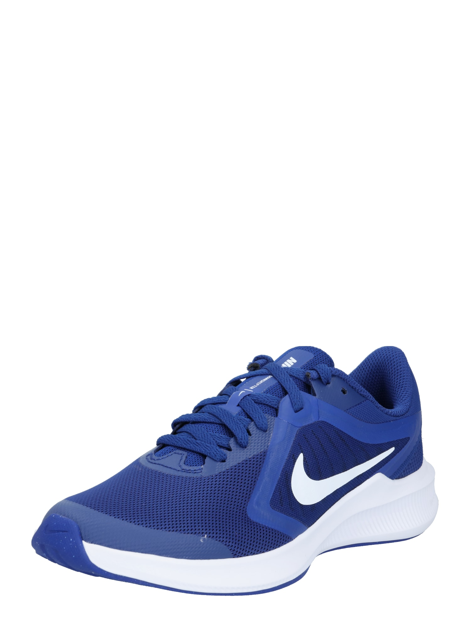 NIKE Sportovní boty  tmavě modrá / bílá