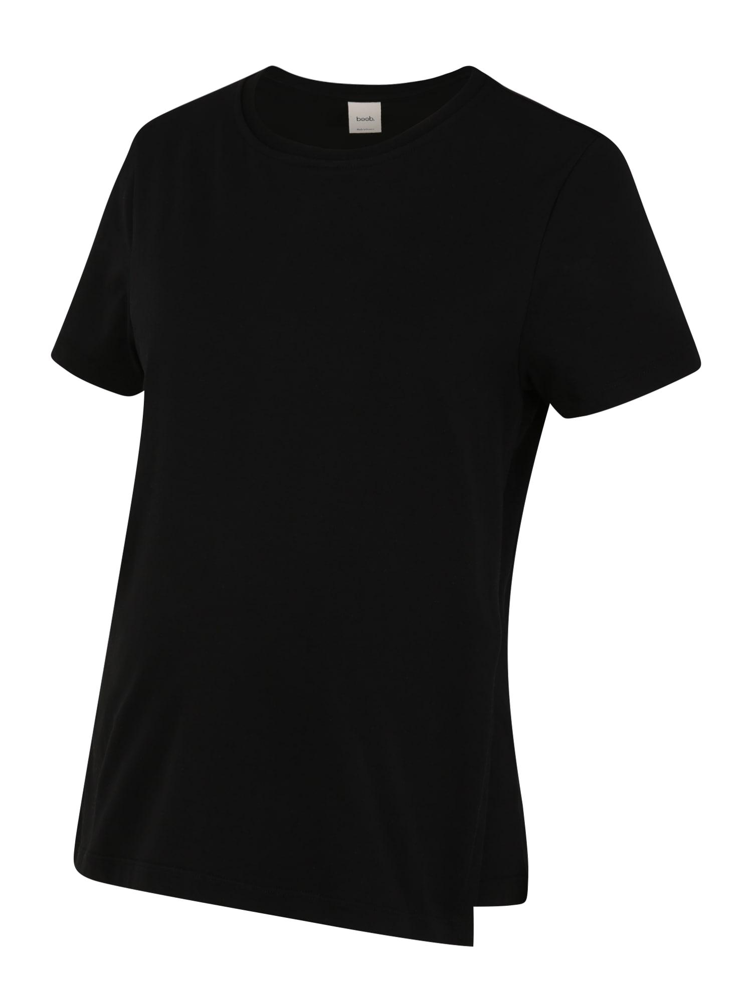 BOOB Marškinėliai juoda