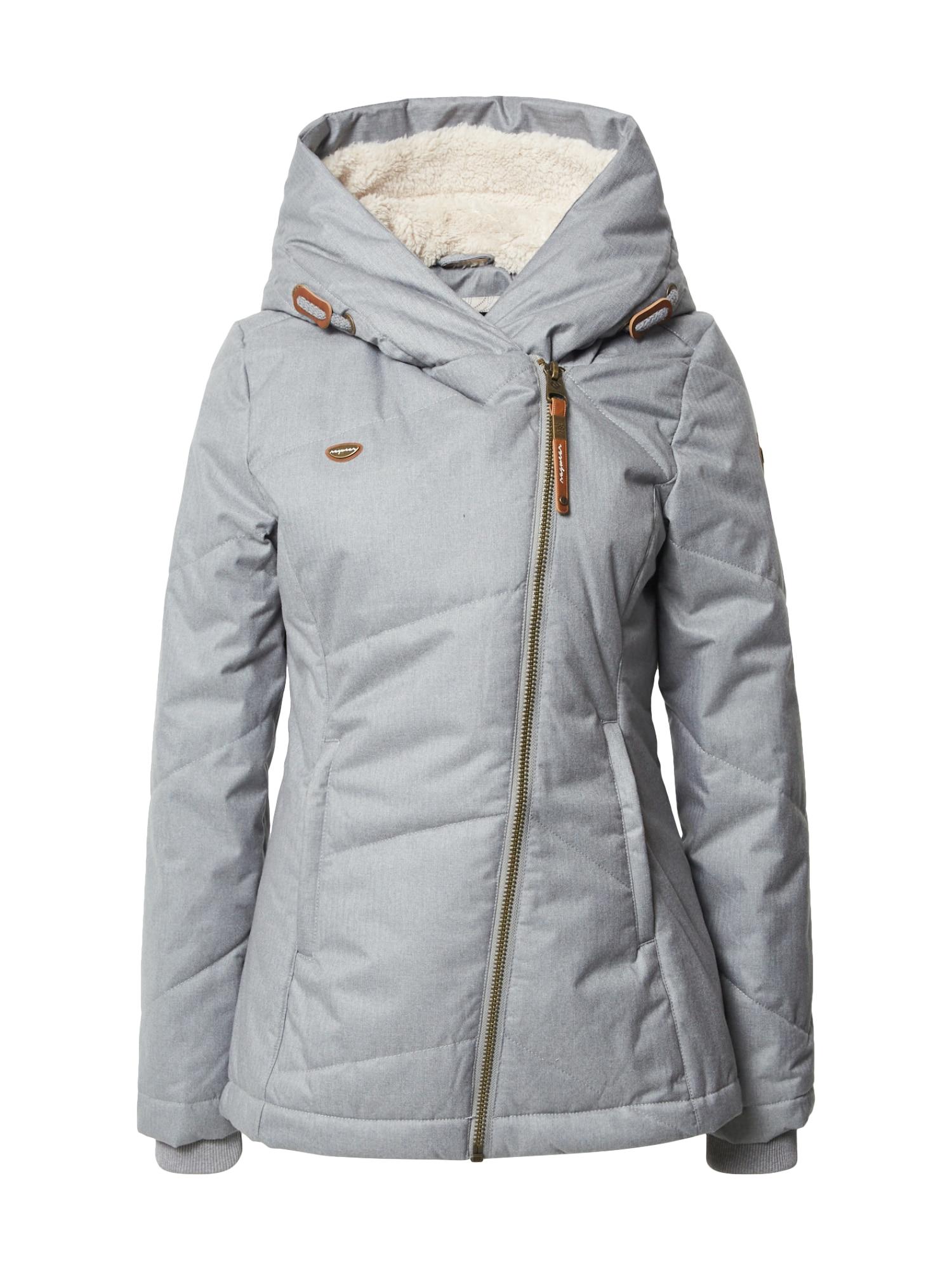 Ragwear Zimní kabát 'Gordon'  šedá