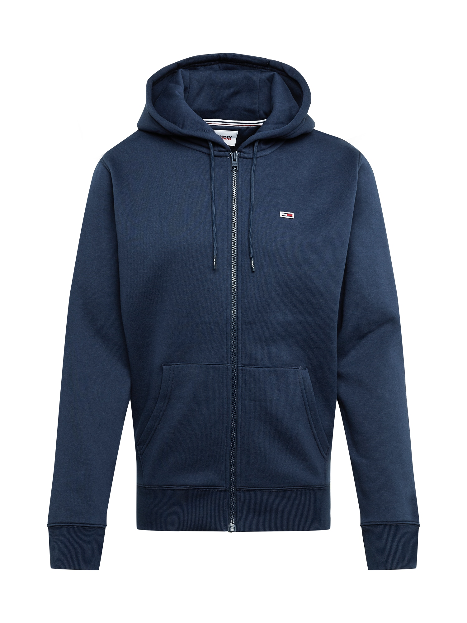 Tommy Jeans Džemperis balta / raudona / tamsiai mėlyna