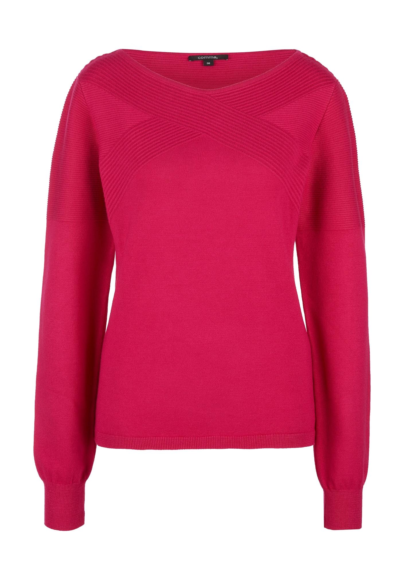 COMMA Megztinis rožinė