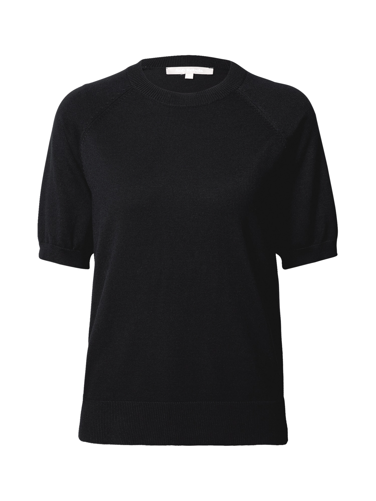 Soft Rebels Tričko  černá