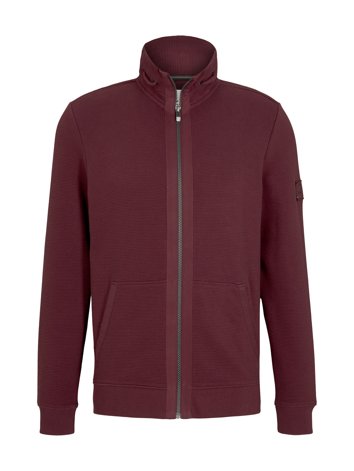 TOM TAILOR Džemperis tamsiai raudona