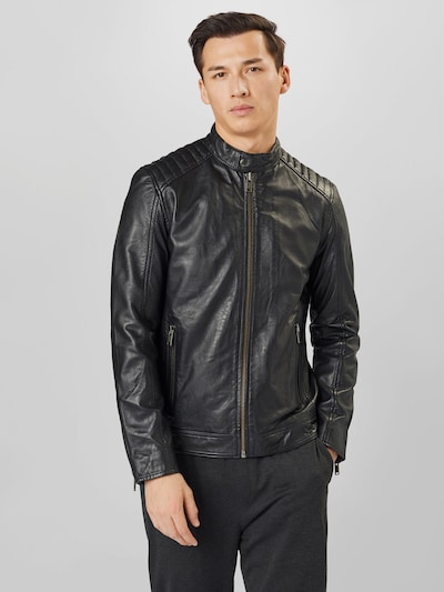 Selected Homme Iconic Racer Leather Jacket