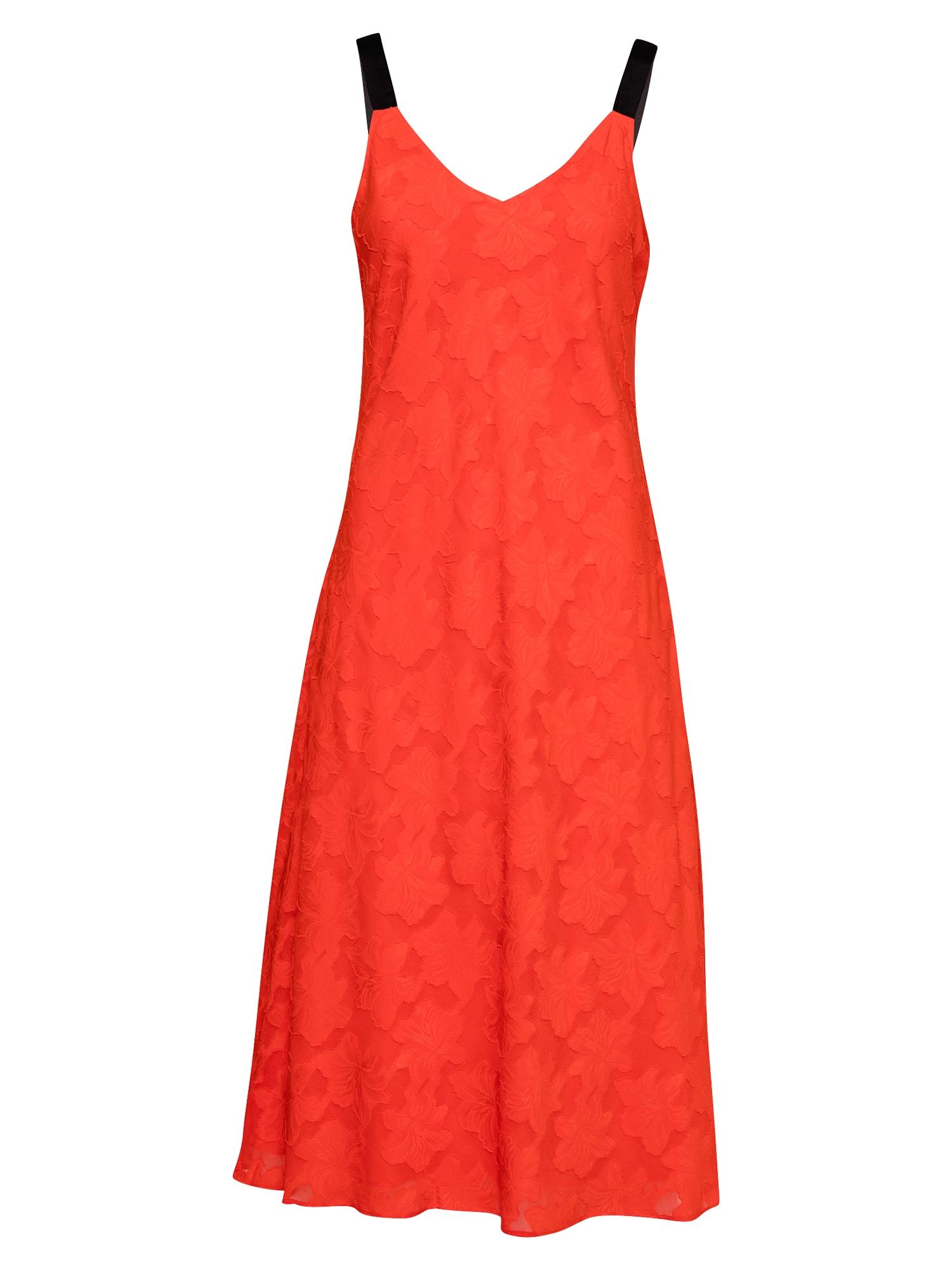 DKNY Suknelė raudona / juoda