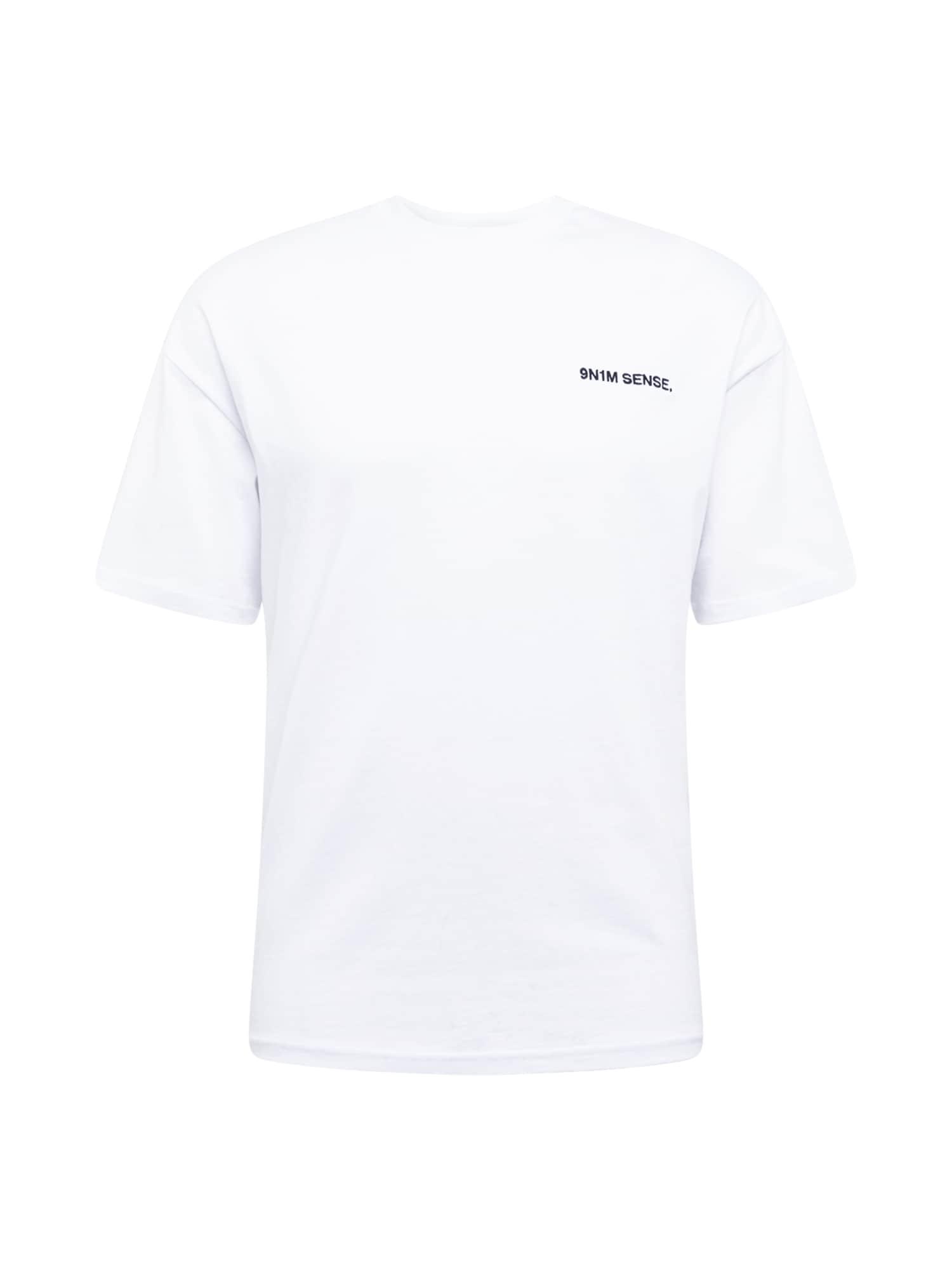 9N1M SENSE Marškinėliai balta
