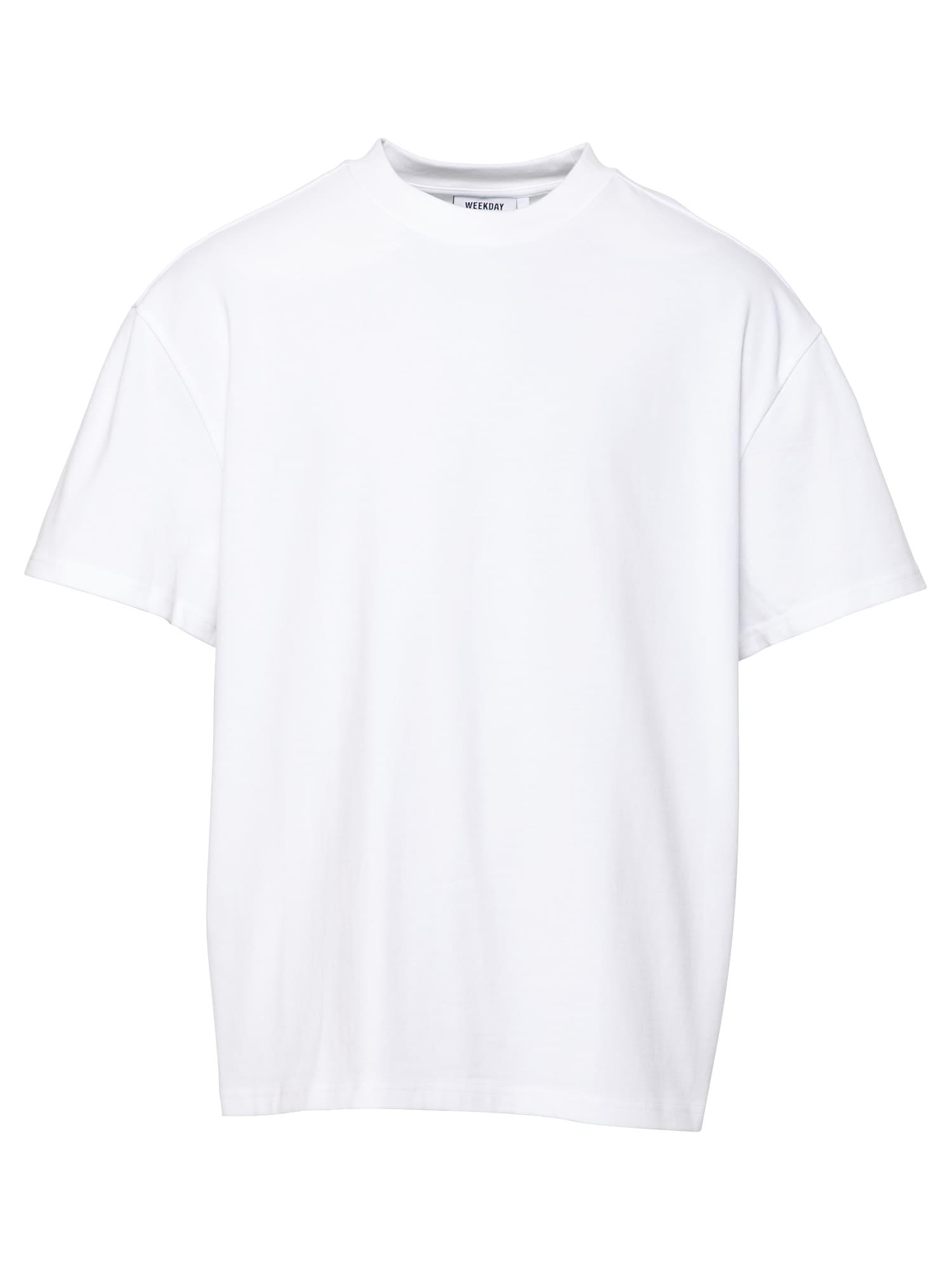 WEEKDAY Marškinėliai balta