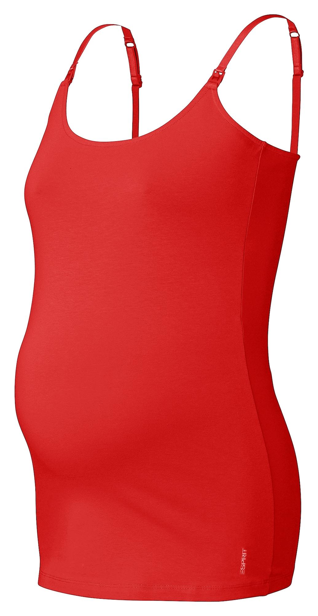 Esprit Maternity Palaidinė be rankovių raudona