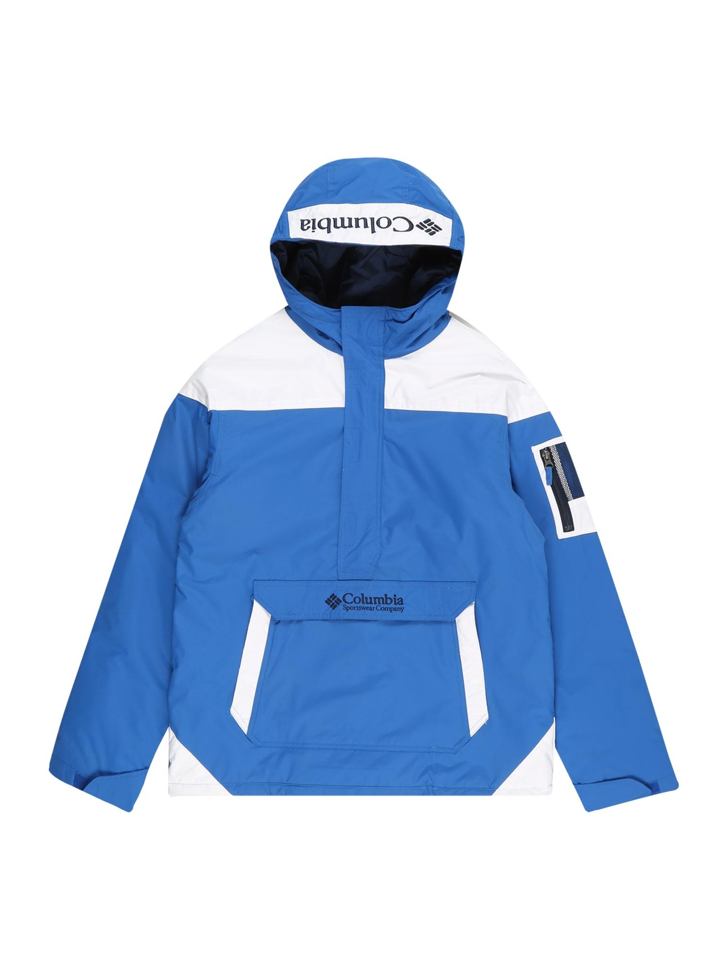 COLUMBIA Přechodná bunda  námořnická modř / světlemodrá / bílá