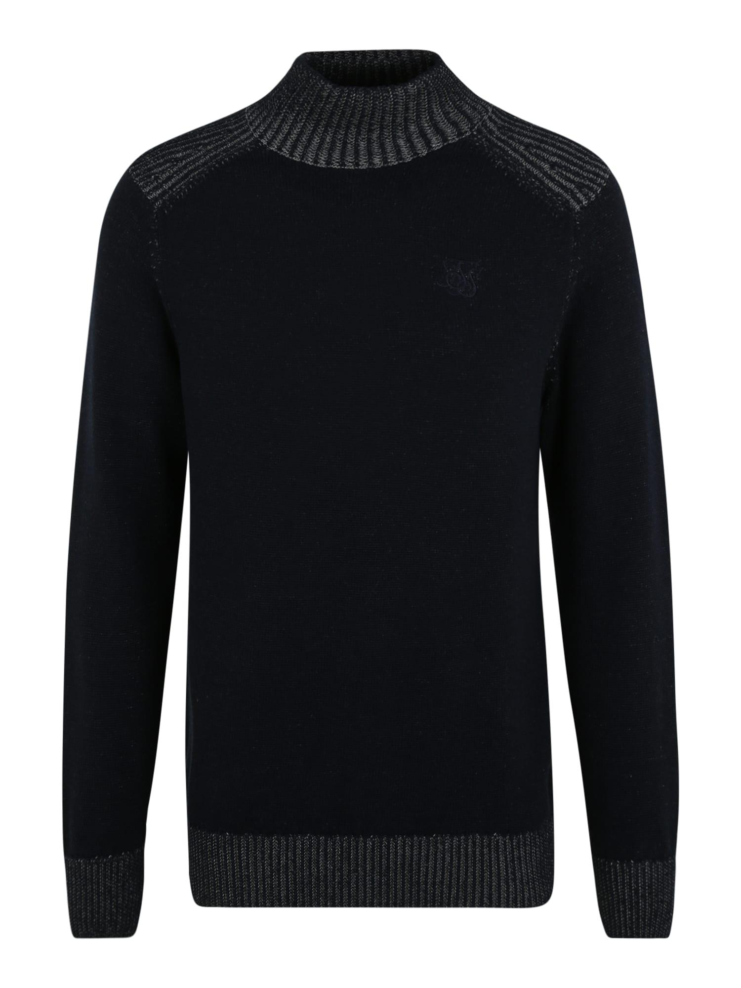 SikSilk Megztinis tamsiai mėlyna