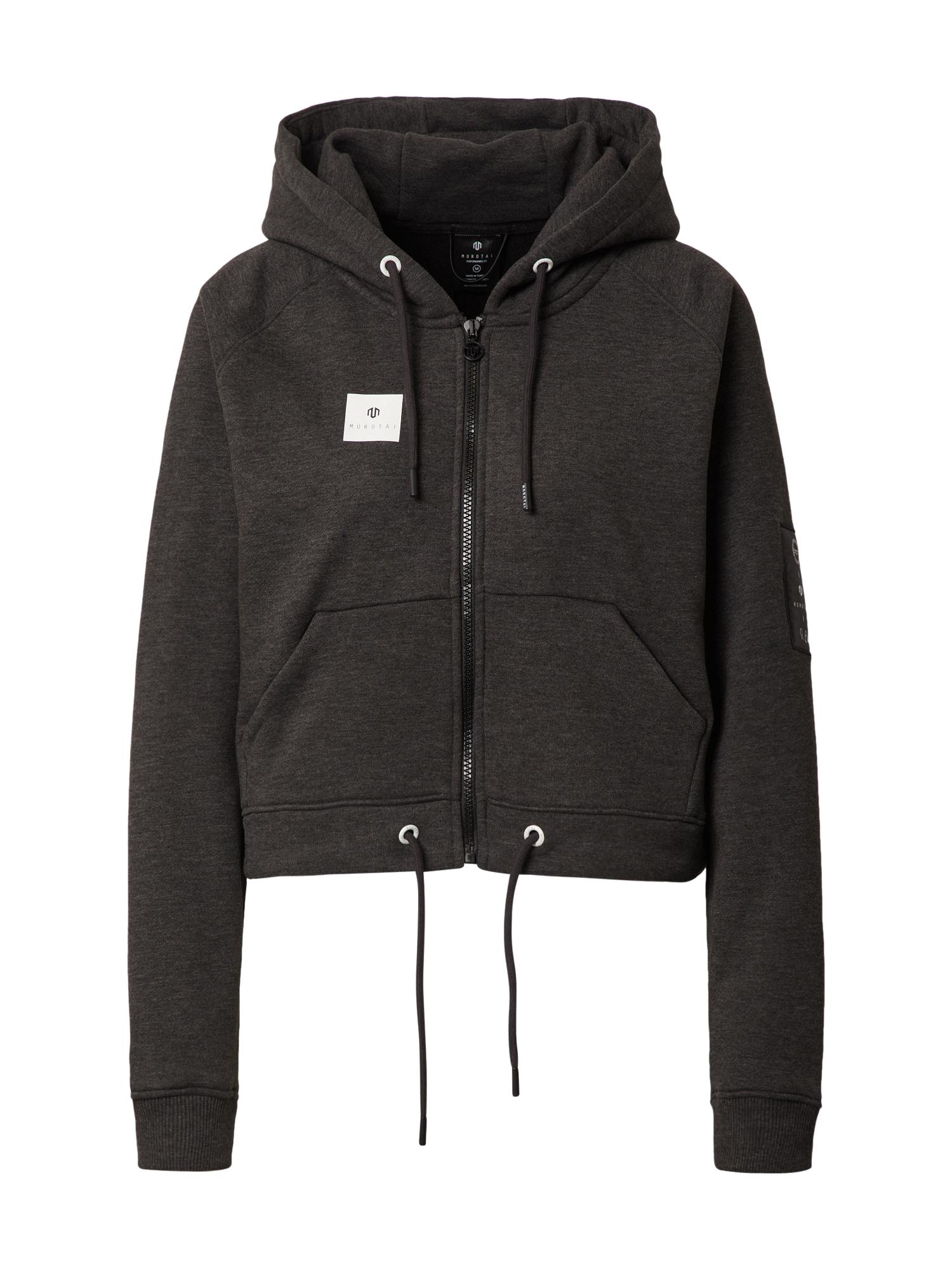 MOROTAI Sportinis džemperis tamsiai pilka