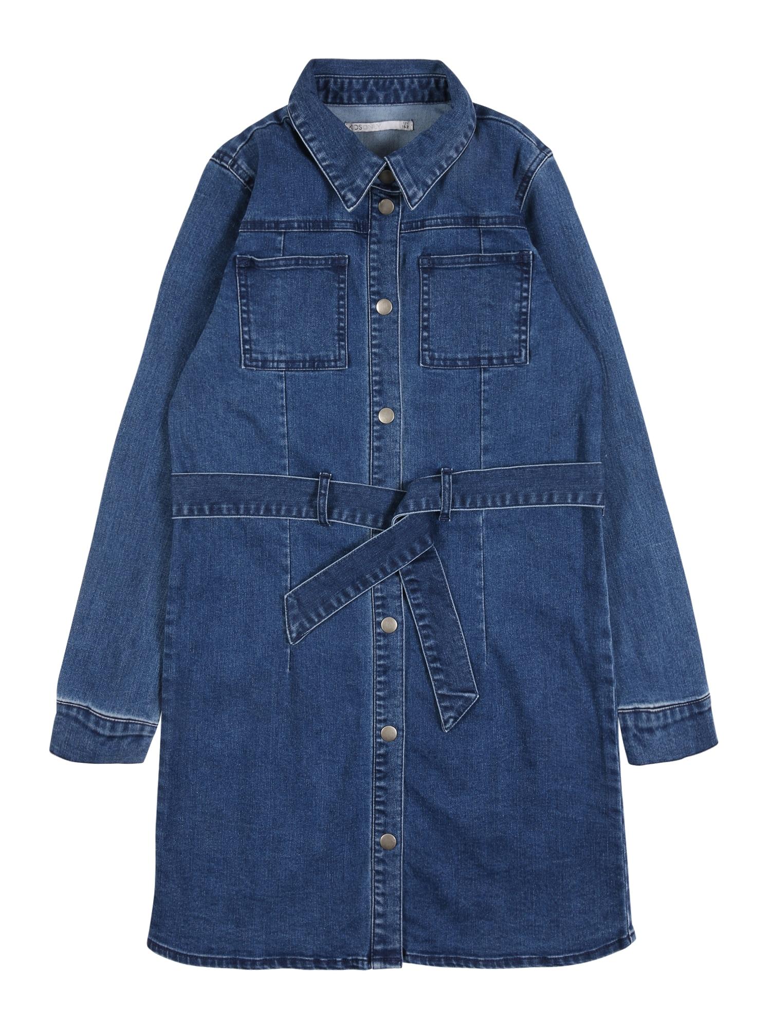 KIDS ONLY Suknelė 'HARPER' tamsiai (džinso) mėlyna