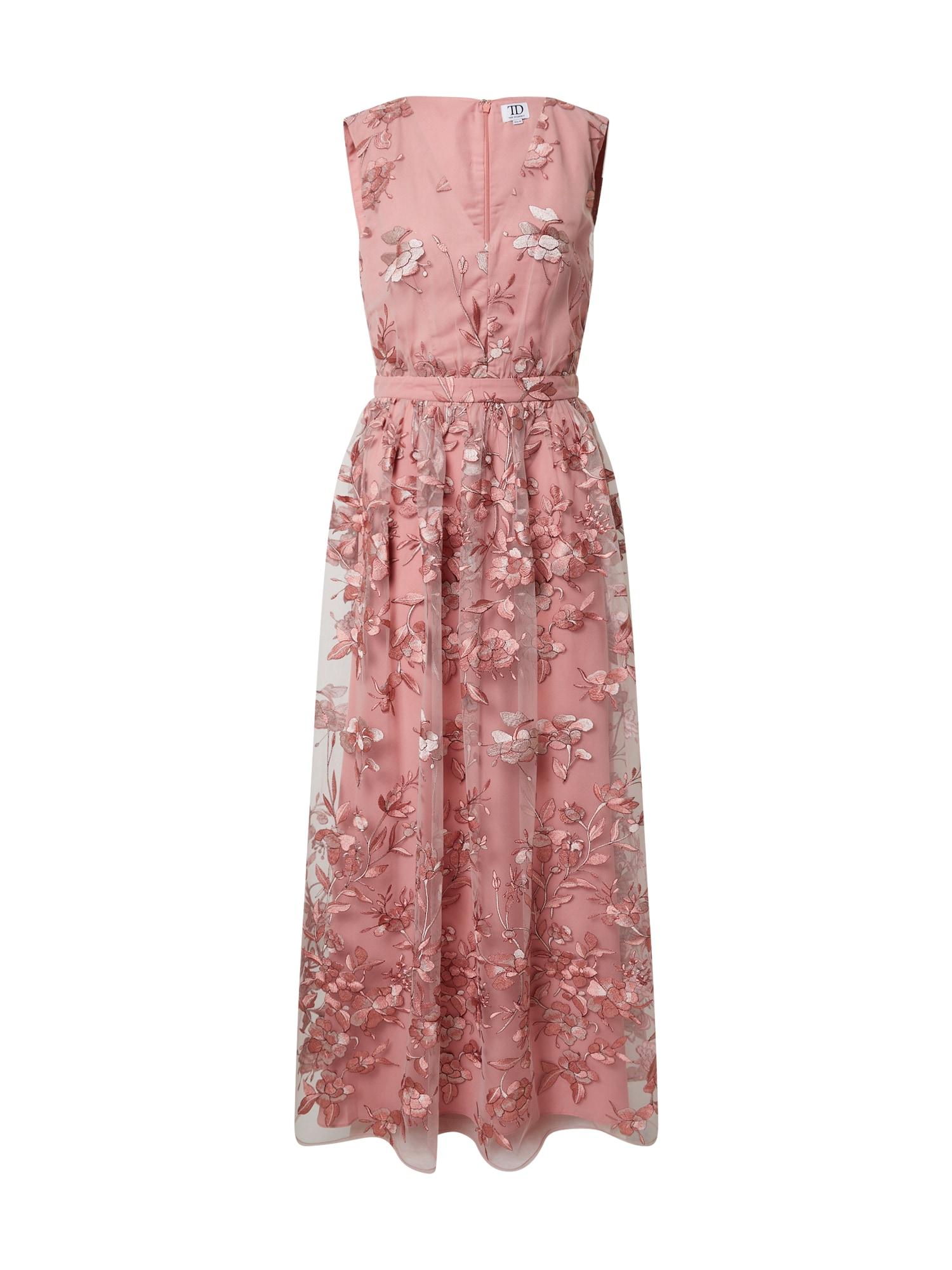 True Decadence Suknelė ryškiai rožinė spalva