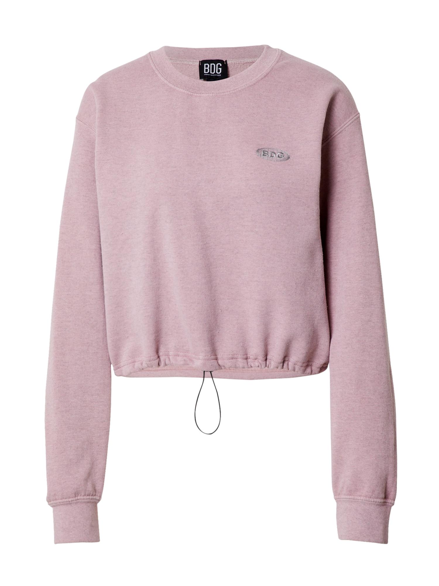 BDG Urban Outfitters Megztinis be užsegimo rožinė