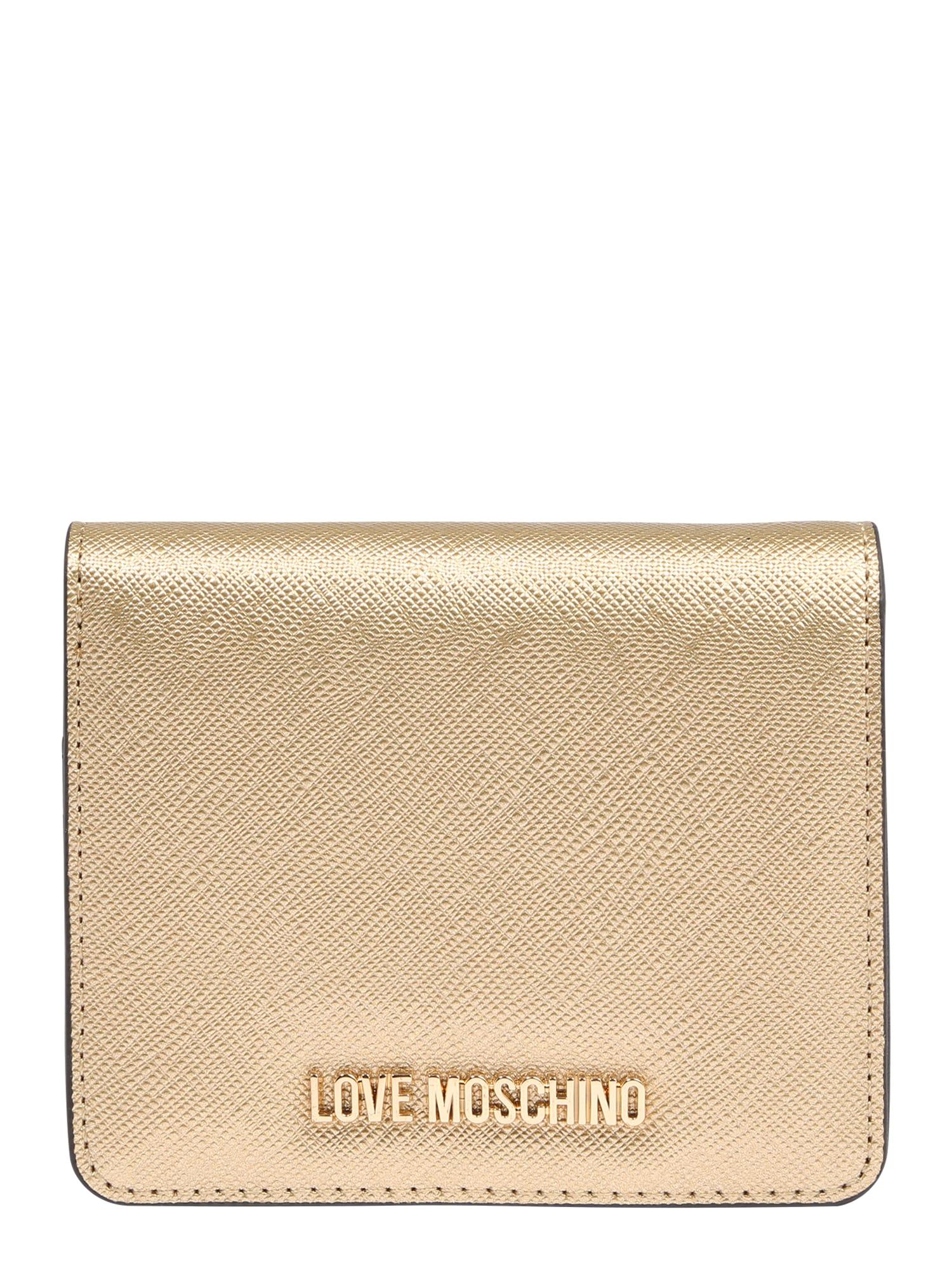 Love Moschino Piniginė rožinio aukso spalva