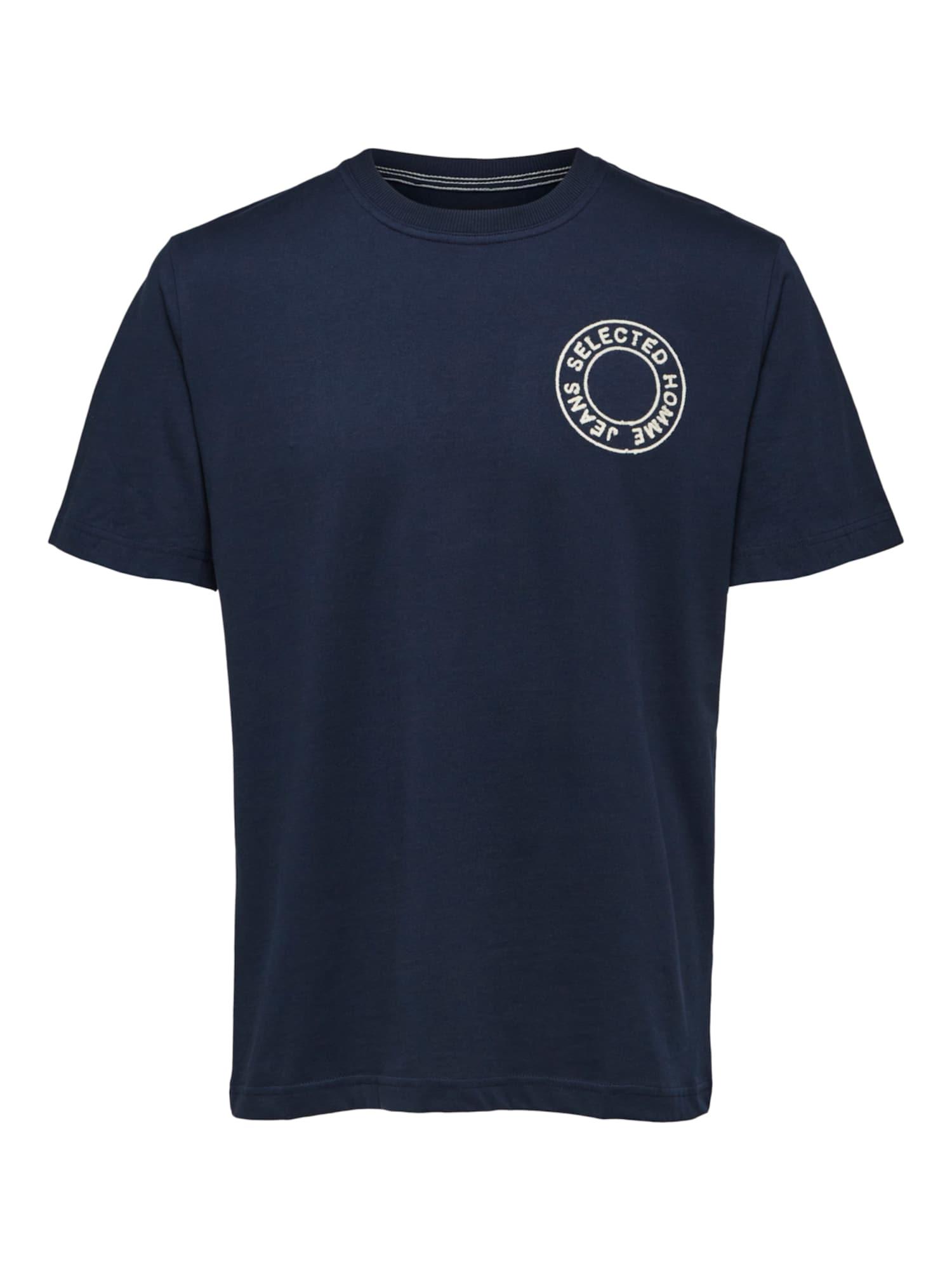 SELECTED Marškinėliai mėlyna