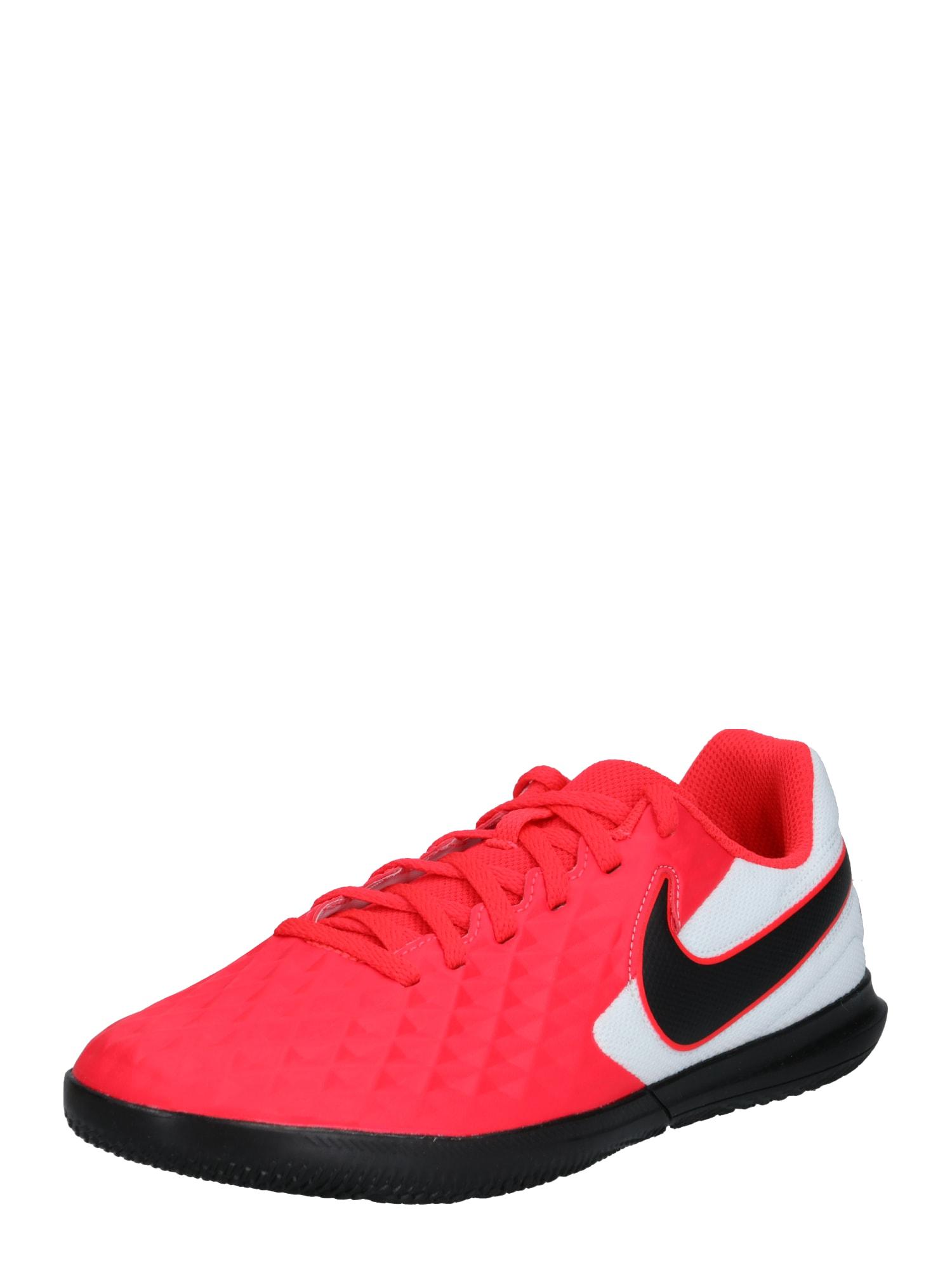 NIKE Sportovní boty 'Tiempo Legend 8'  bílá / červená / černá