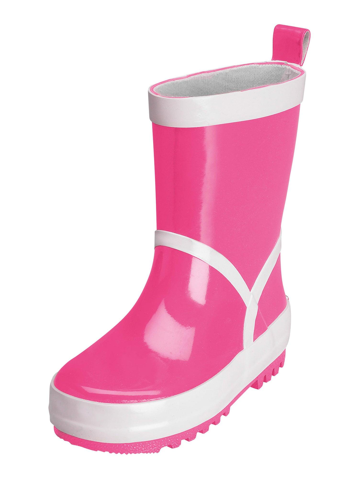 PLAYSHOES Guminiai batai rožinė / balta