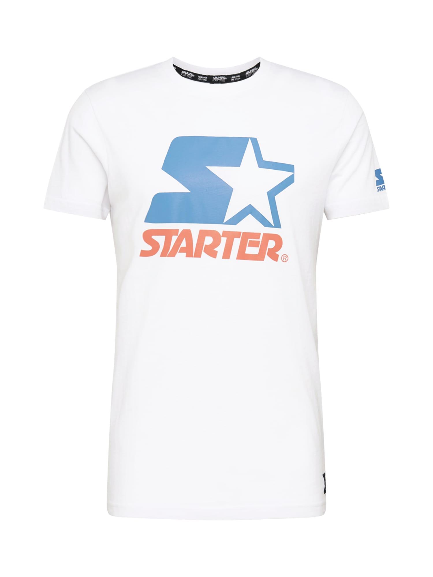 Starter Black Label Marškinėliai raudona / mėlyna / balta