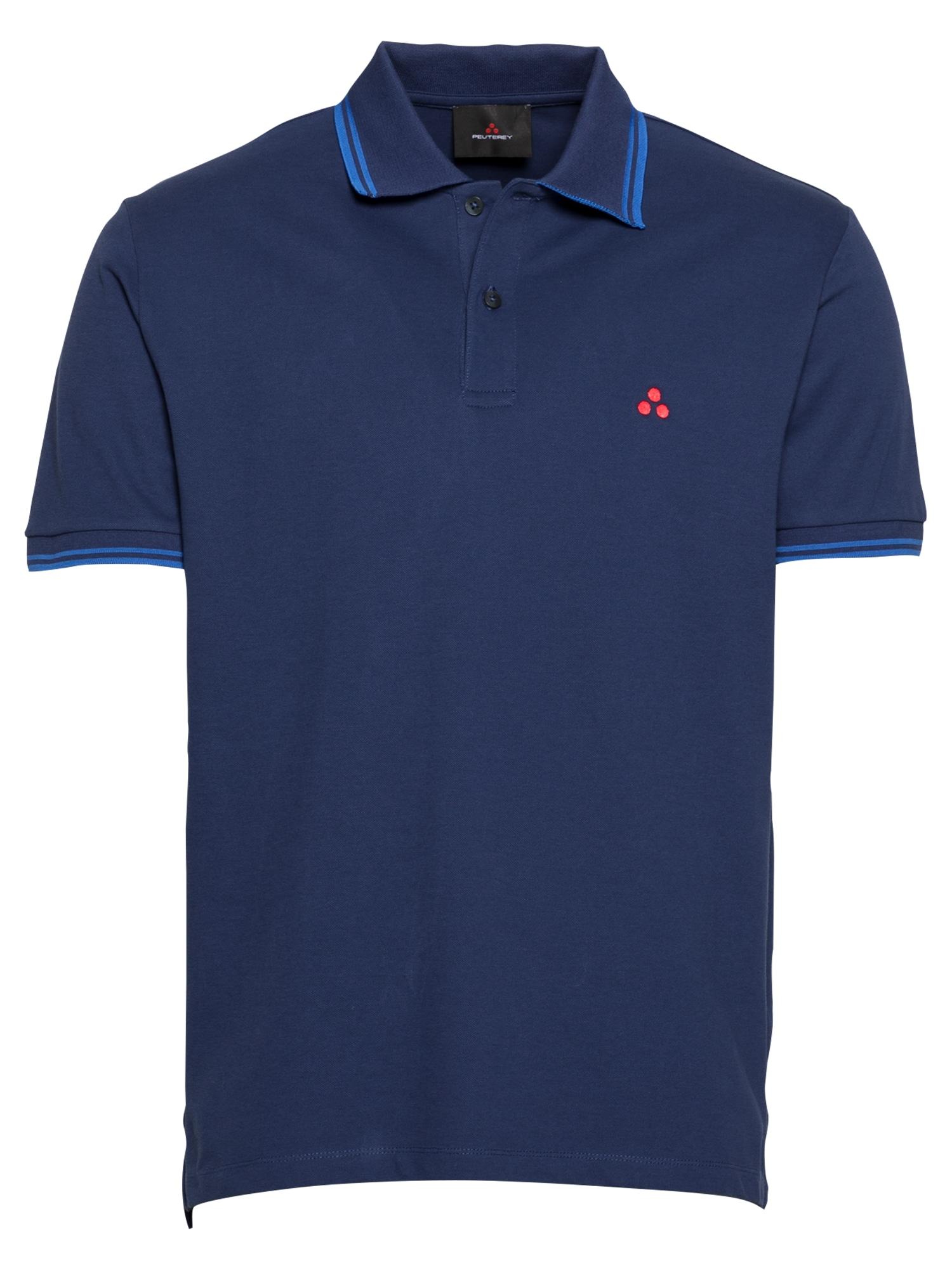 Peuterey Marškinėliai tamsiai mėlyna / dangaus žydra