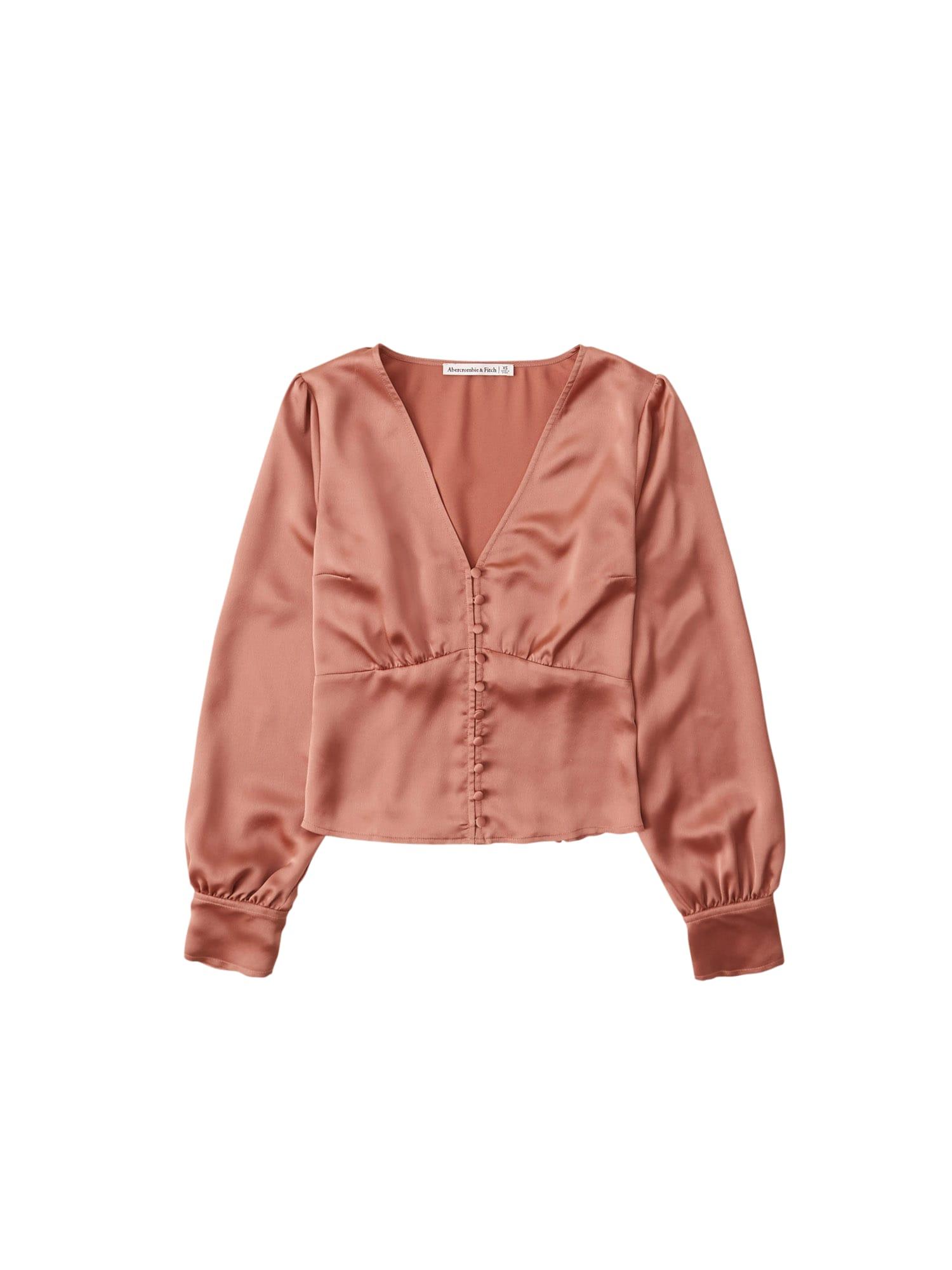 Abercrombie & Fitch Palaidinė ryškiai rožinė spalva