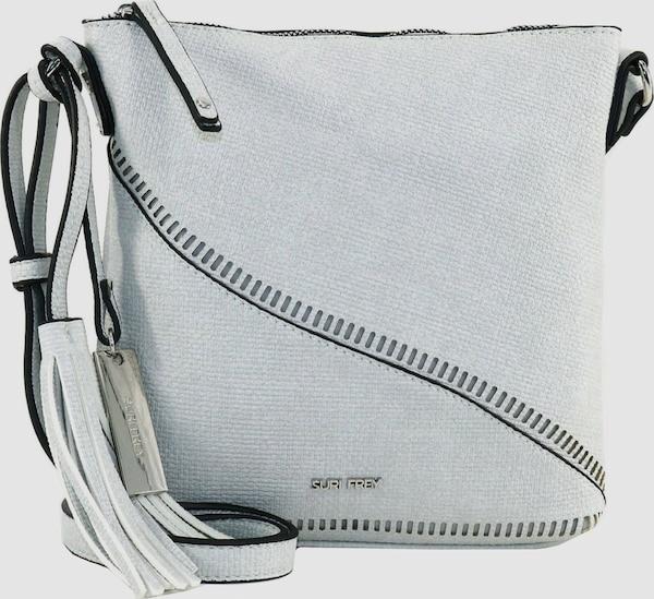 Die modische Umhängetasche von Suri Frey in Web-Optik besticht durch ihr besonderes Design und ihren optimalen Platz für Ihre Wertsachen. Ein stylischer Begleiter für die moderne Frau.