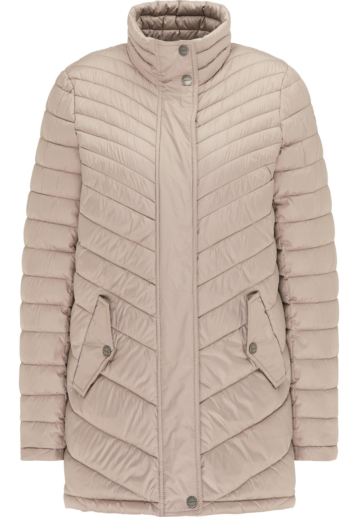 DreiMaster Klassik Žieminis paltas pudros spalva