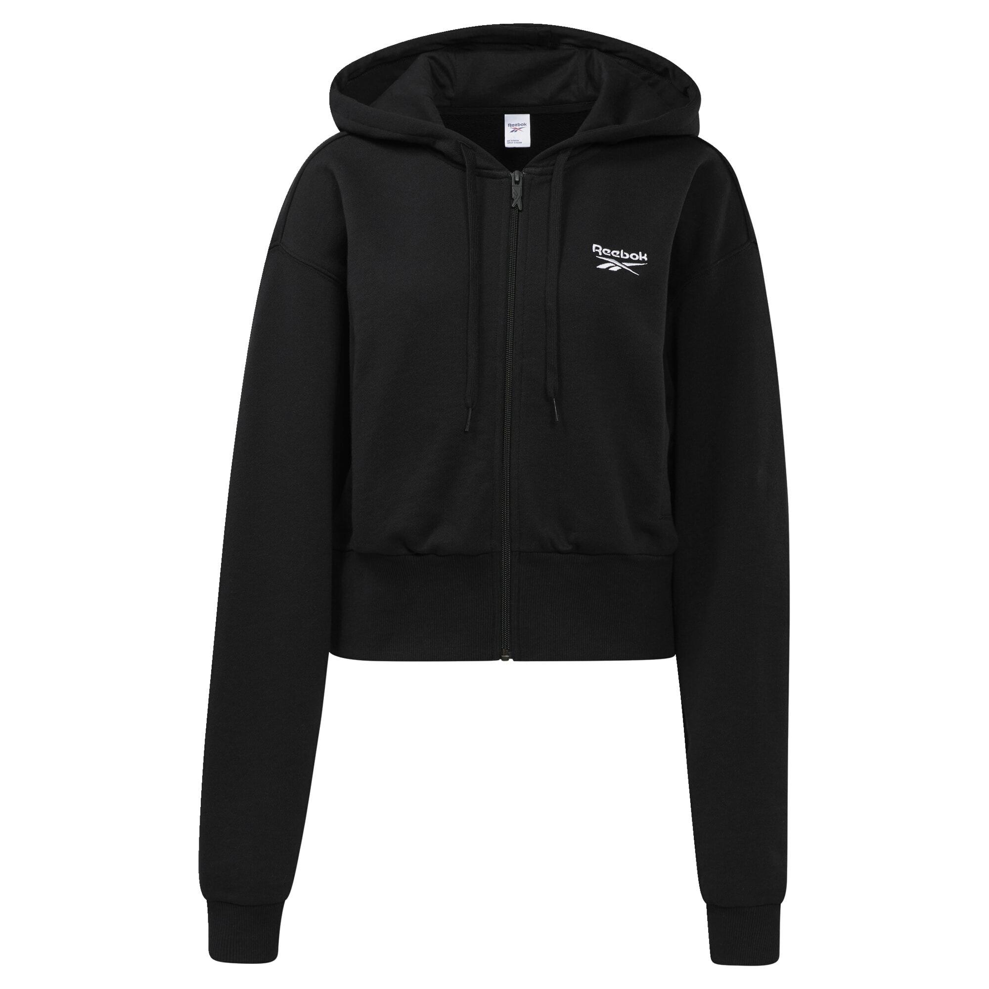 Reebok Classic Džemperis juoda / balta