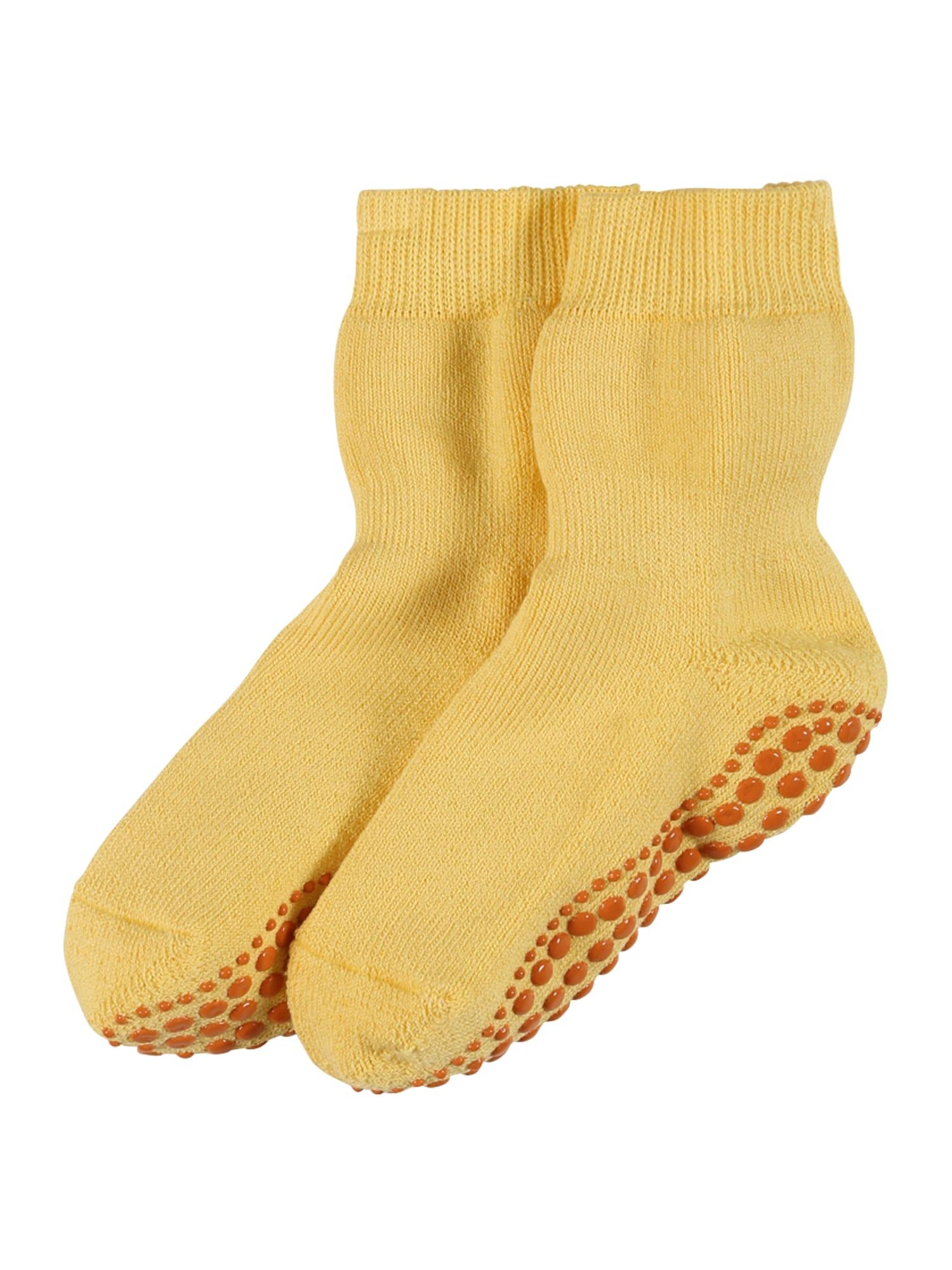 FALKE Kojinės 'Catspads' geltona / medaus spalva