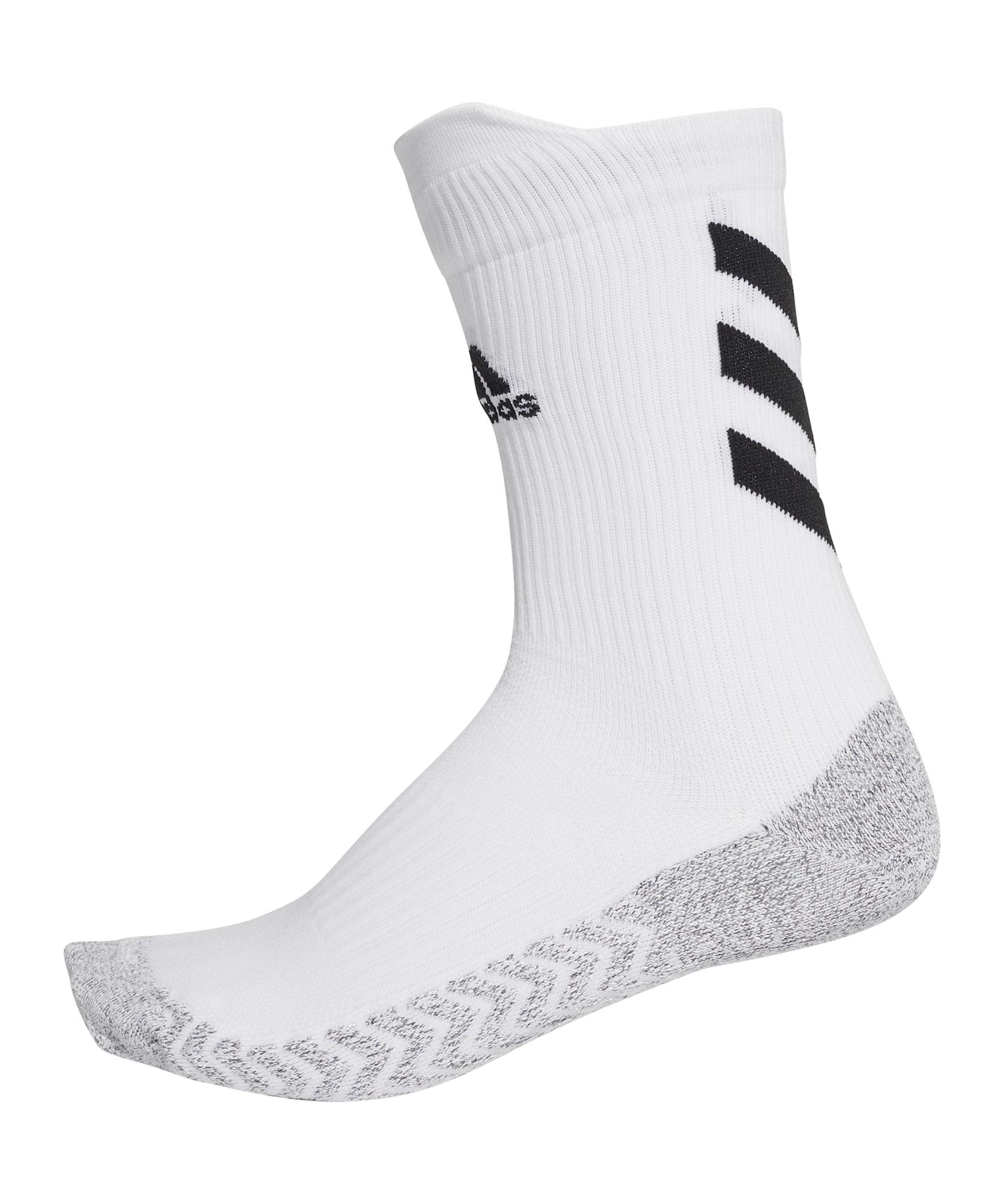 ADIDAS PERFORMANCE Sportinės kojinės pilka / balta / juoda
