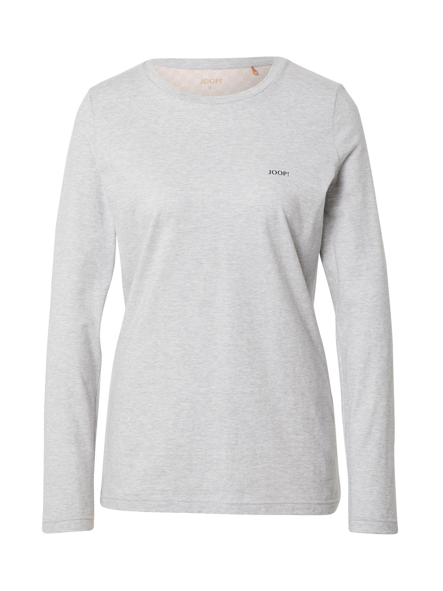 JOOP! Bodywear Pižaminiai marškinėliai margai pilka