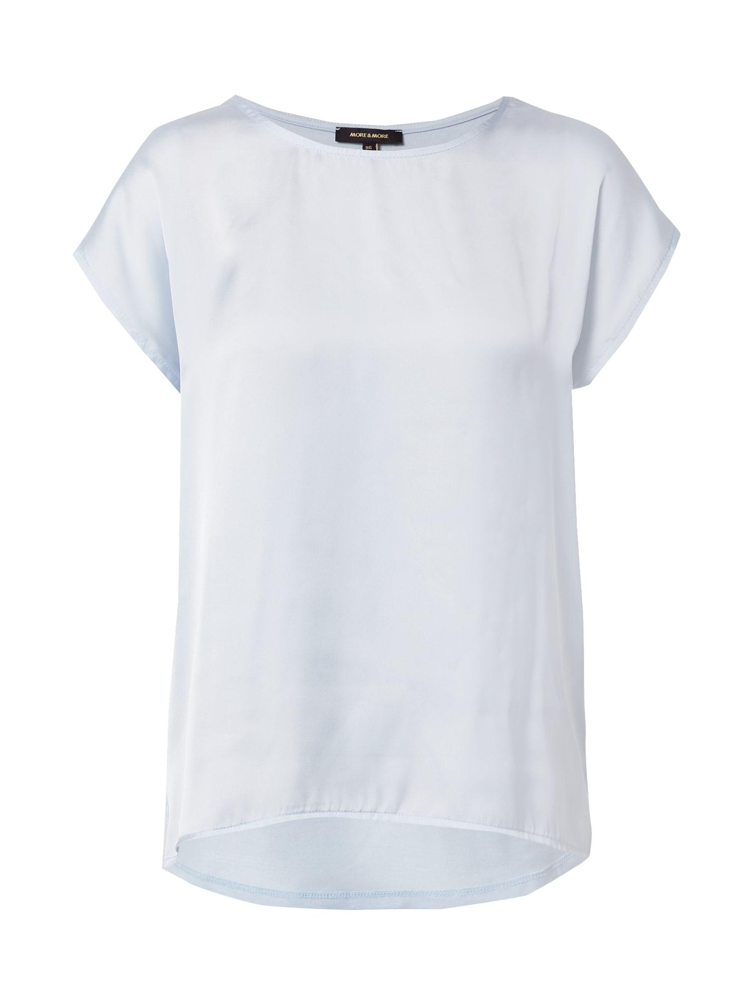 MORE & MORE Marškinėliai azuro