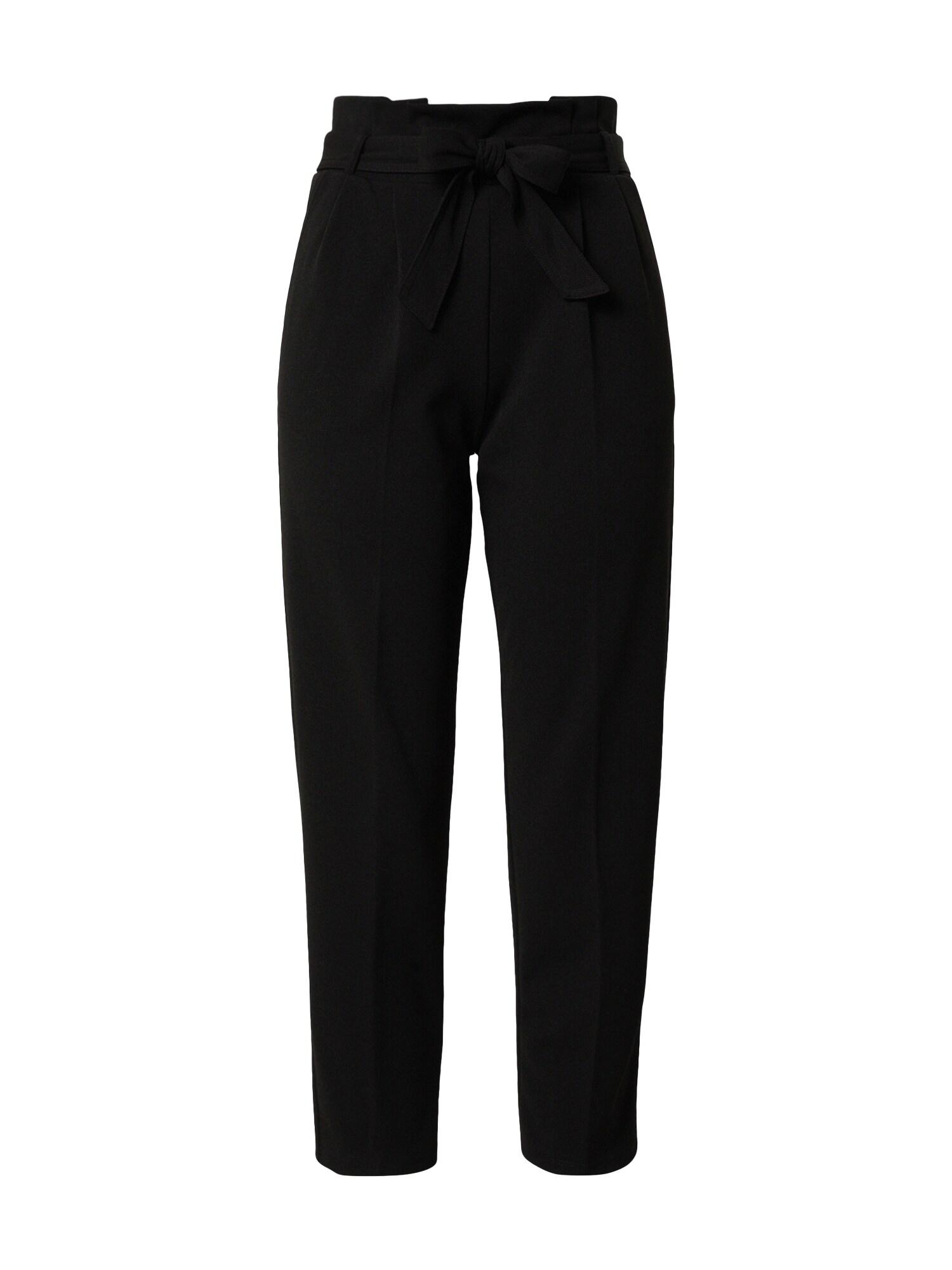 Miss Selfridge Kelnės su kantu juoda
