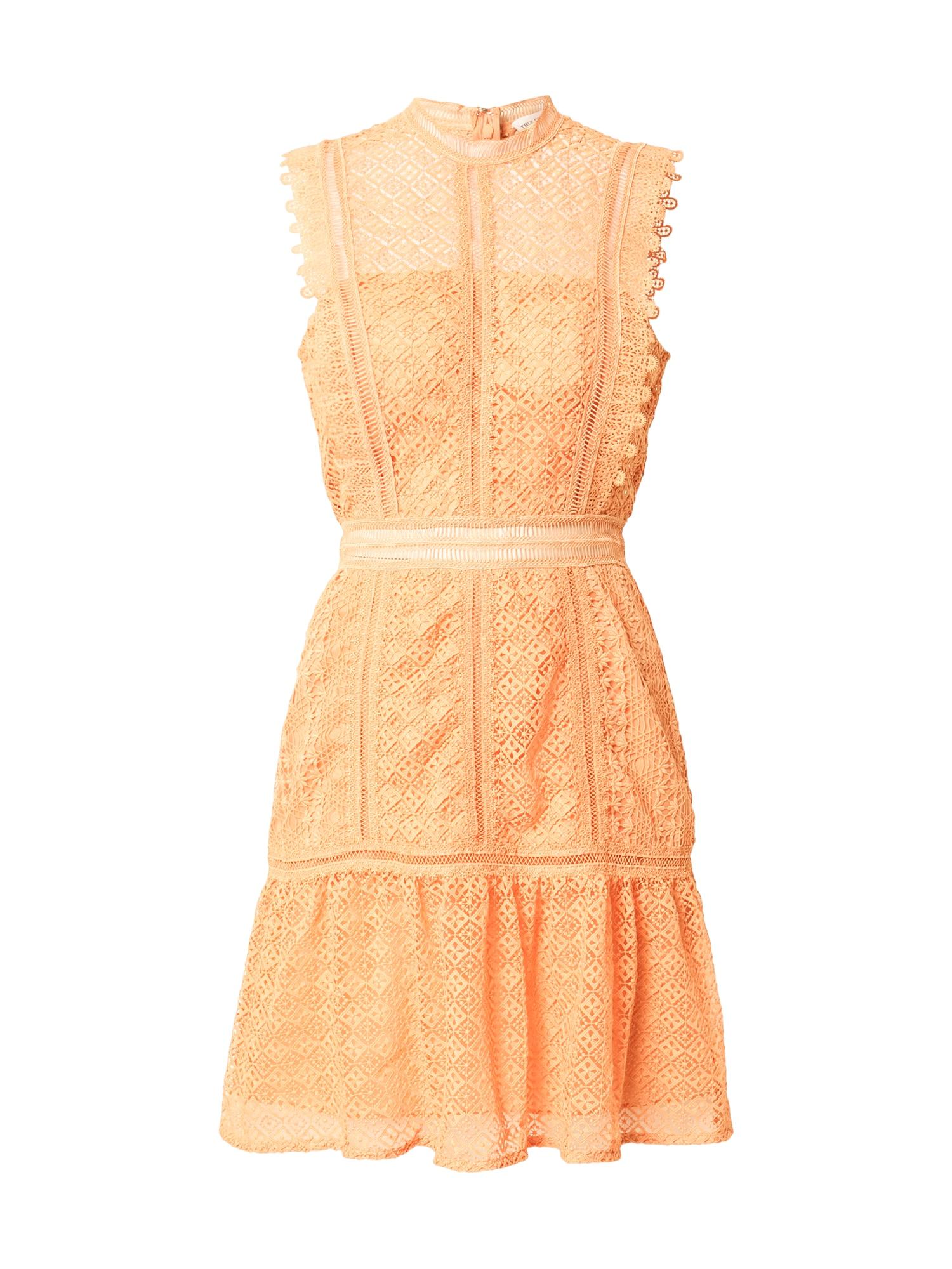 True Decadence Suknelė šviesiai oranžinė