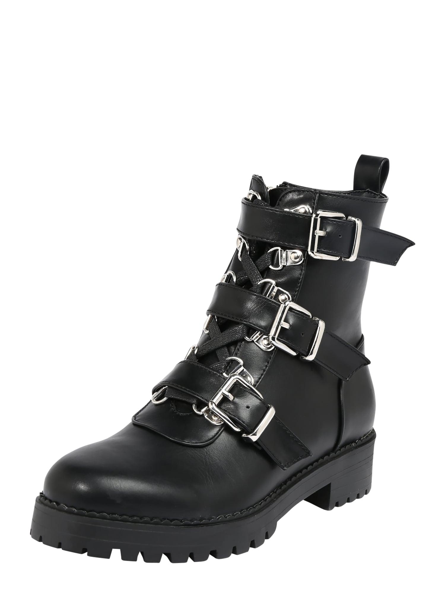 Raid Šněrovací boty  černá