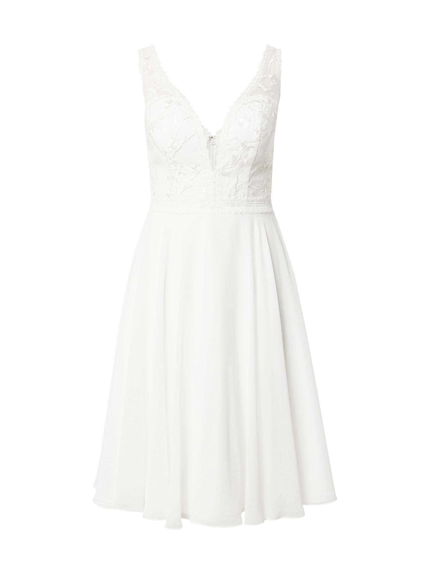 MAGIC BRIDE Kokteilinė suknelė kremo