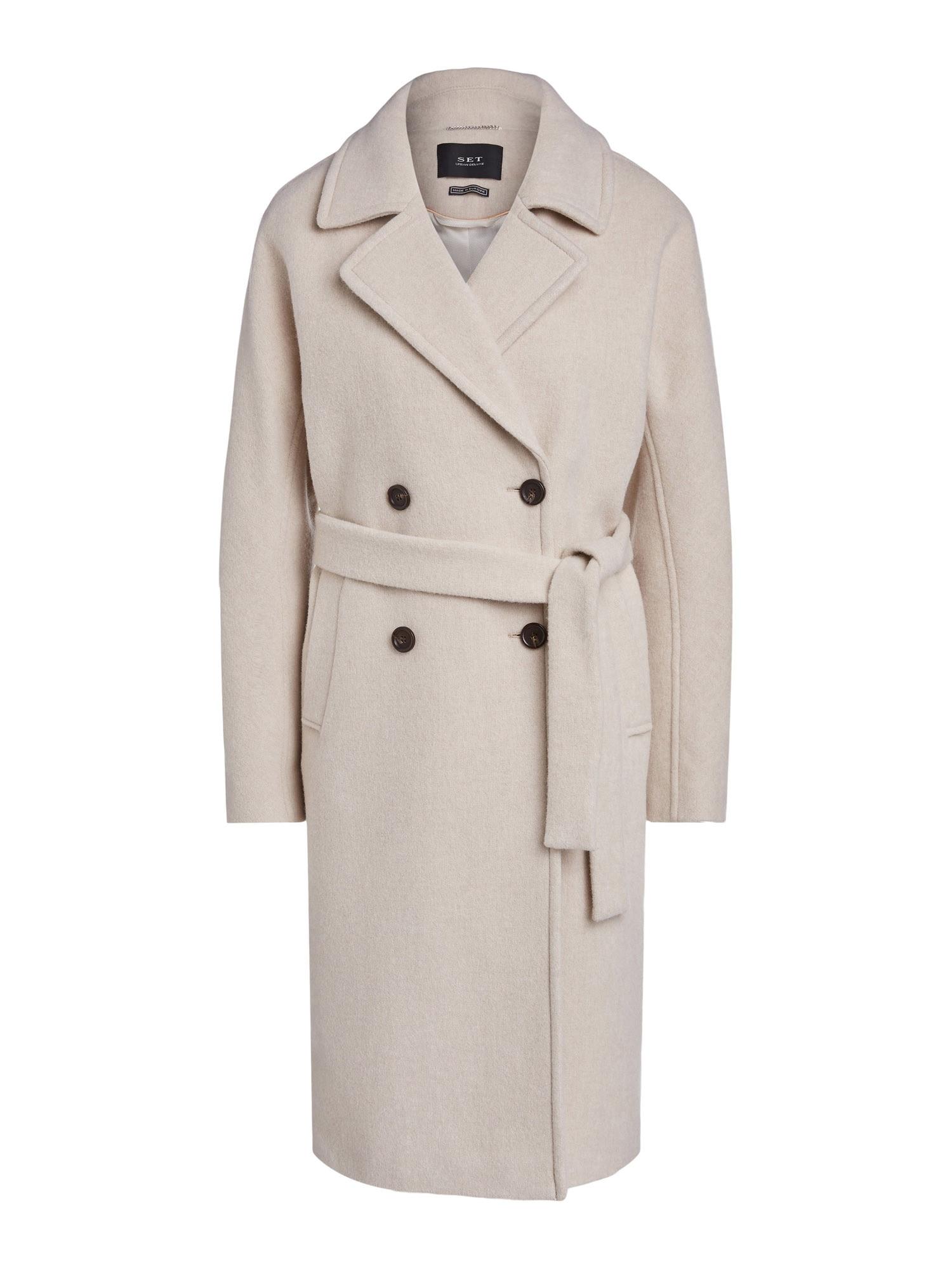 SET Přechodný kabát  béžová