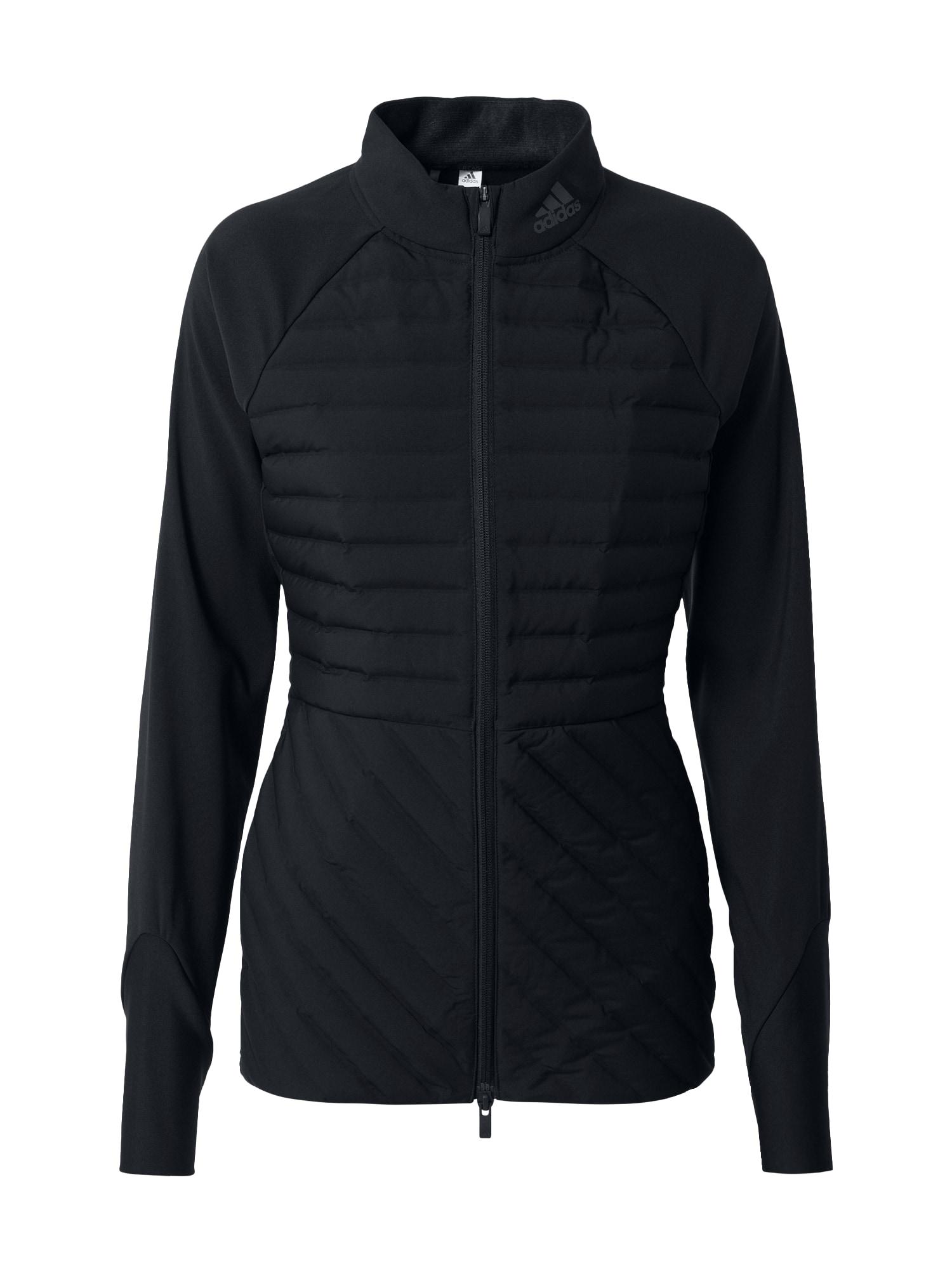 adidas Golf Sportovní bunda  černá