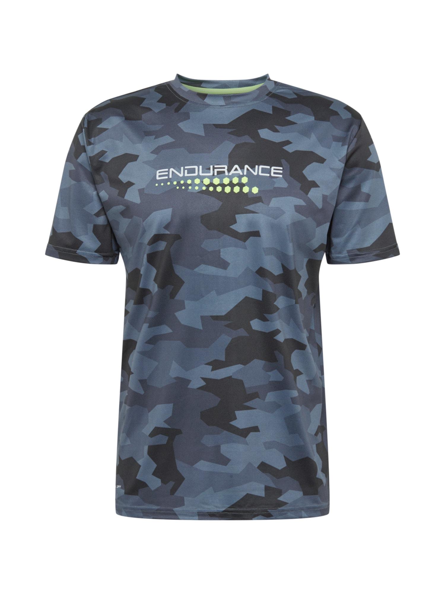 ENDURANCE Funkční tričko 'Corby'  opálová / modrá / kobaltová modř / pastelově zelená