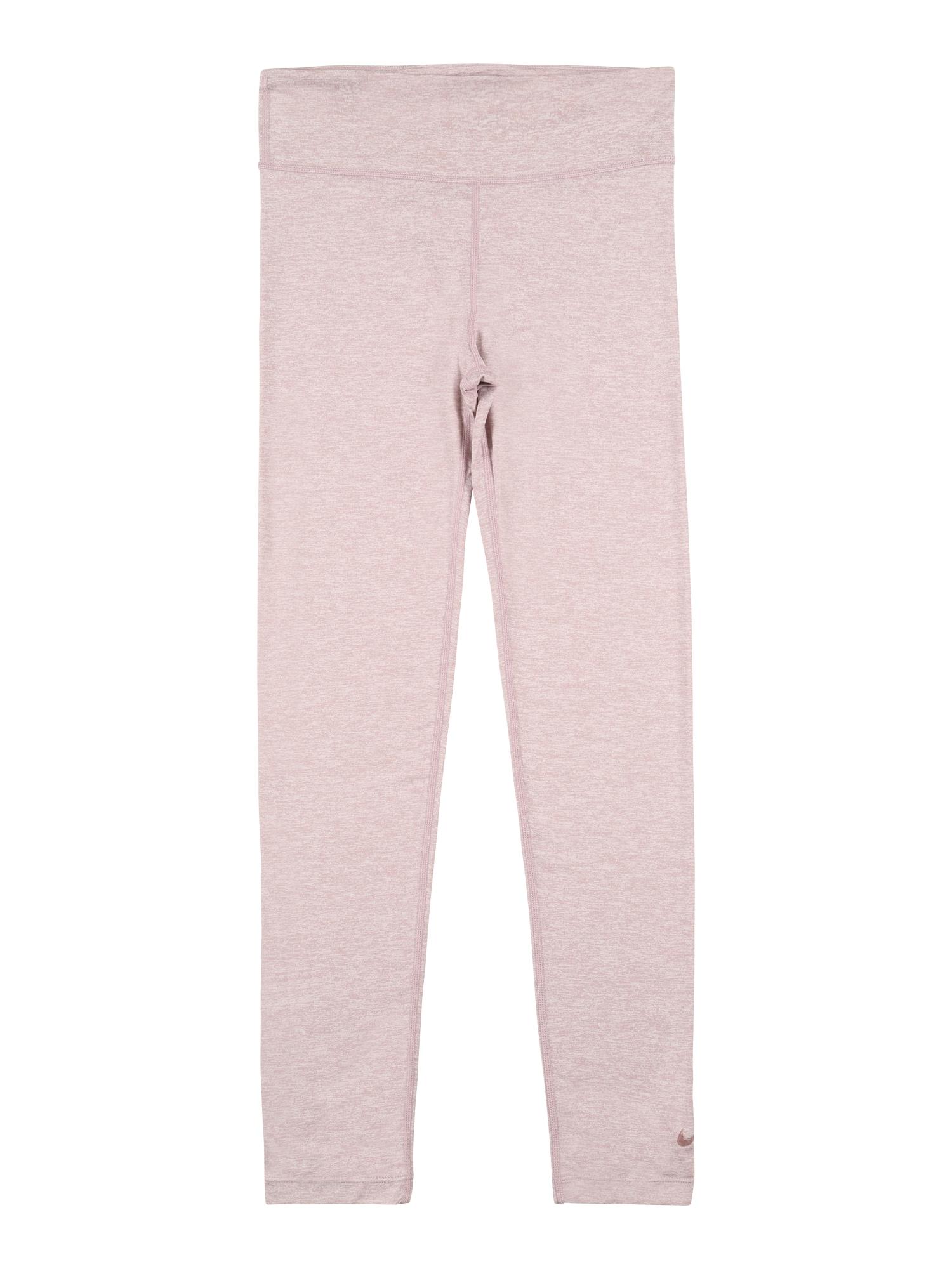 NIKE Sportovní kalhoty 'One Luxe'  švestková