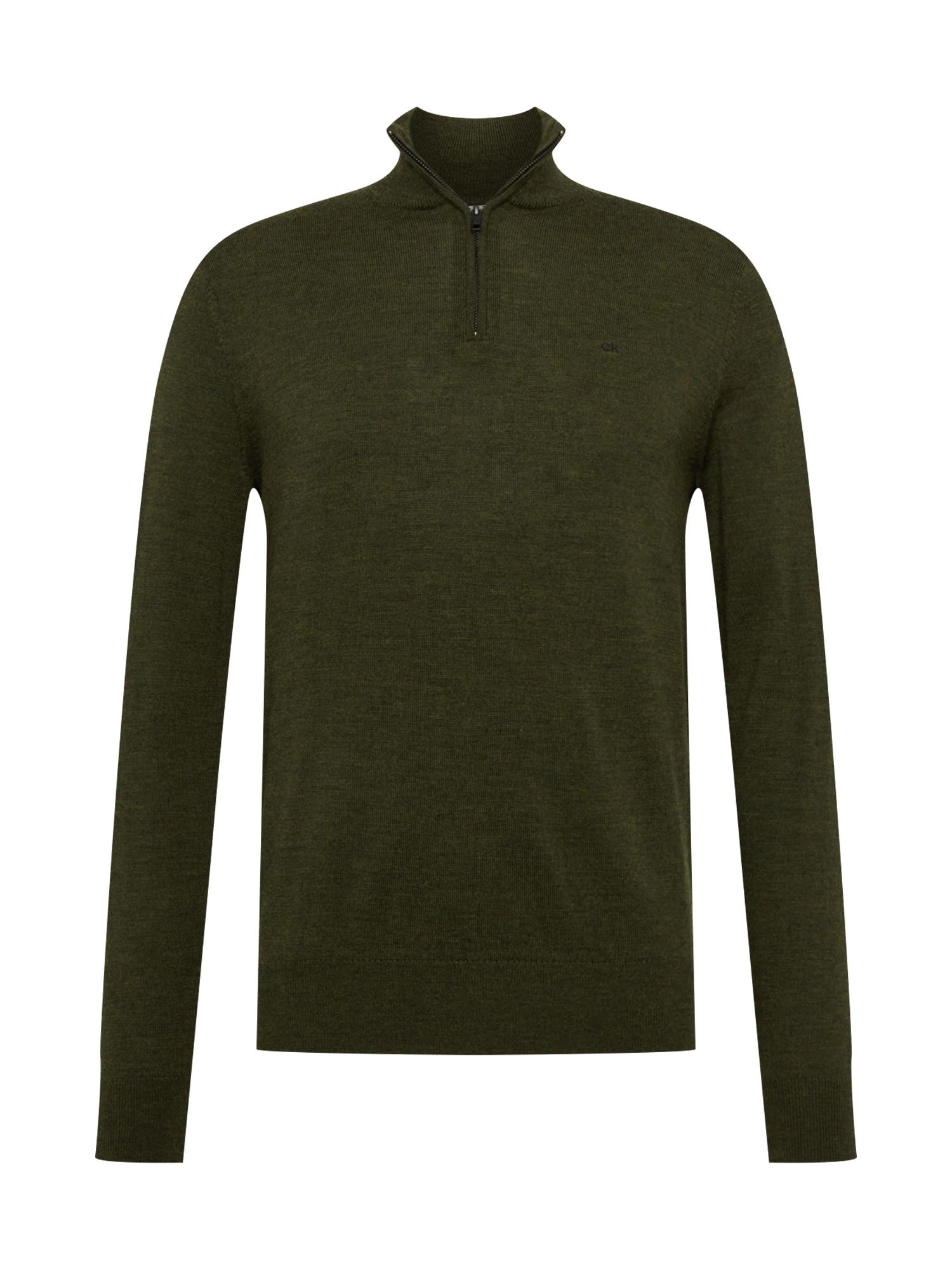 Calvin Klein Megztinis alyvuogių spalva