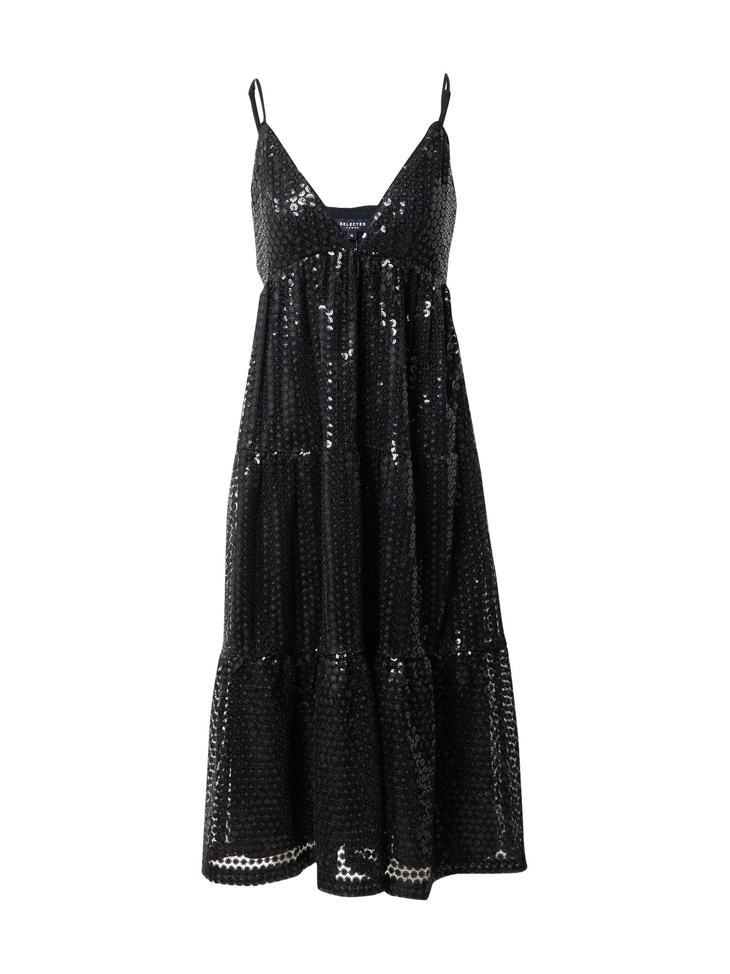 SELECTED FEMME Společenské šaty 'Pamela'  černá