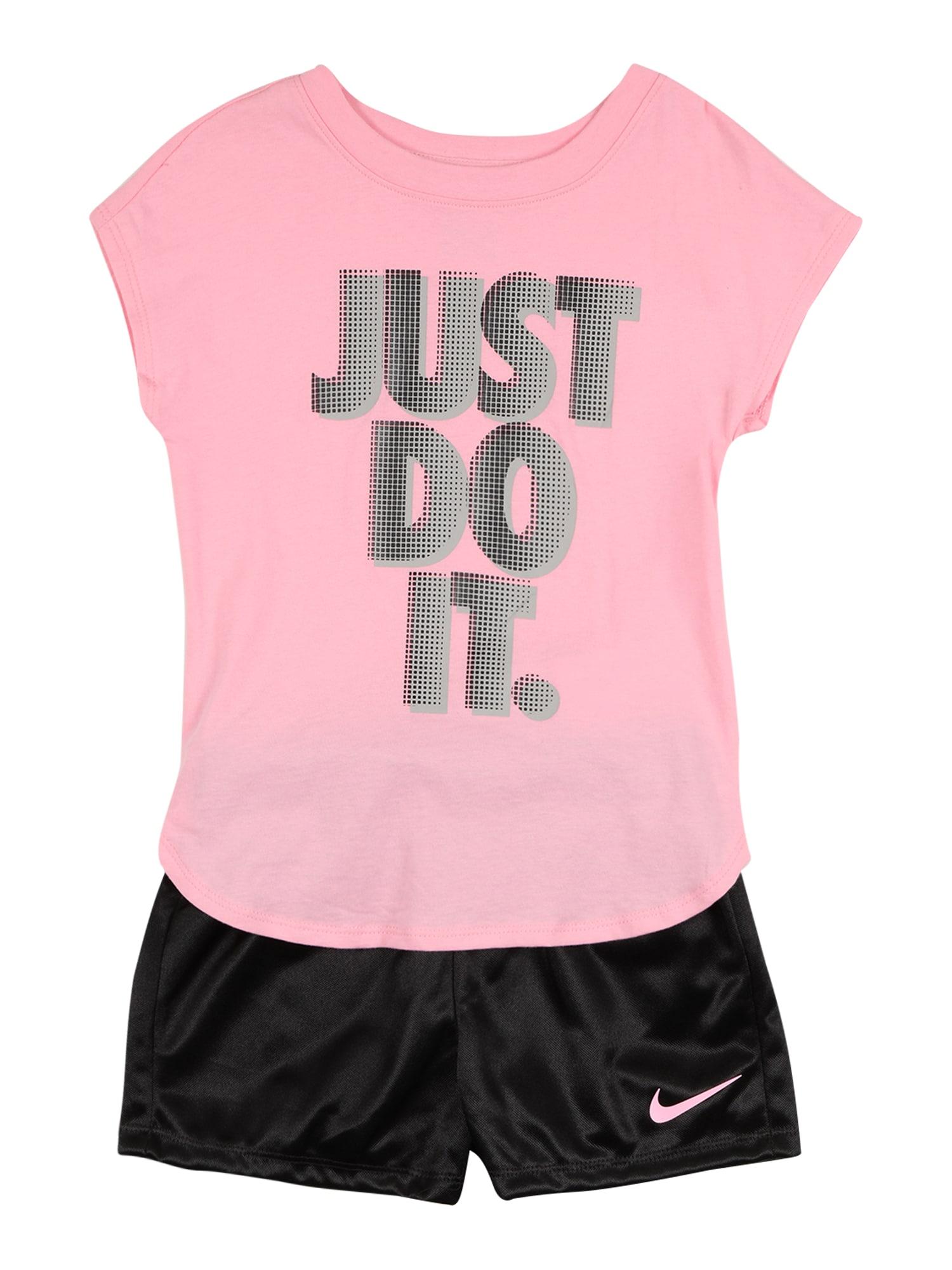 Nike Sportswear Rinkinys juoda / rožių spalva